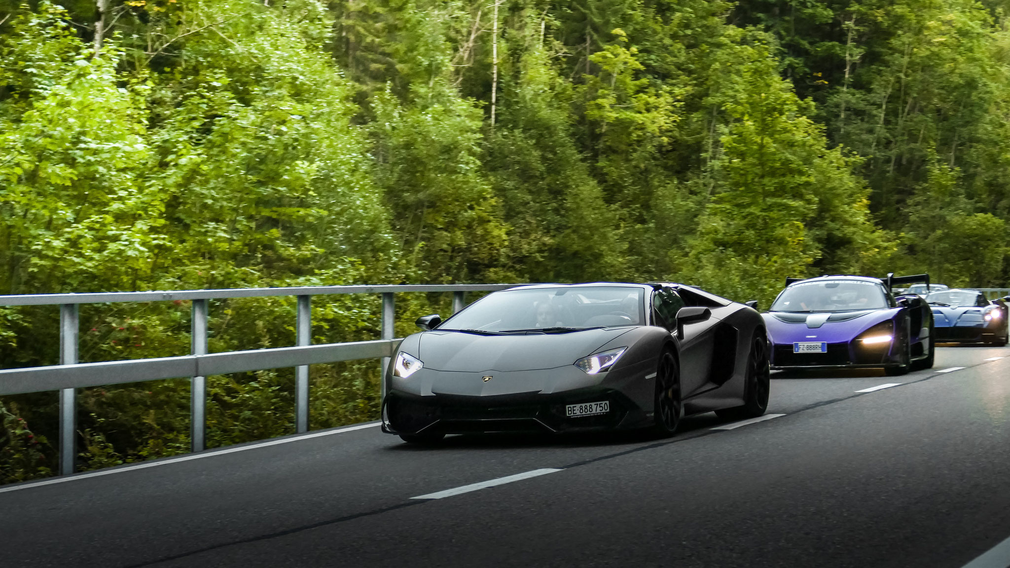 Lamborghini Aventador 50th Anniversary - BE-888750 (CH)