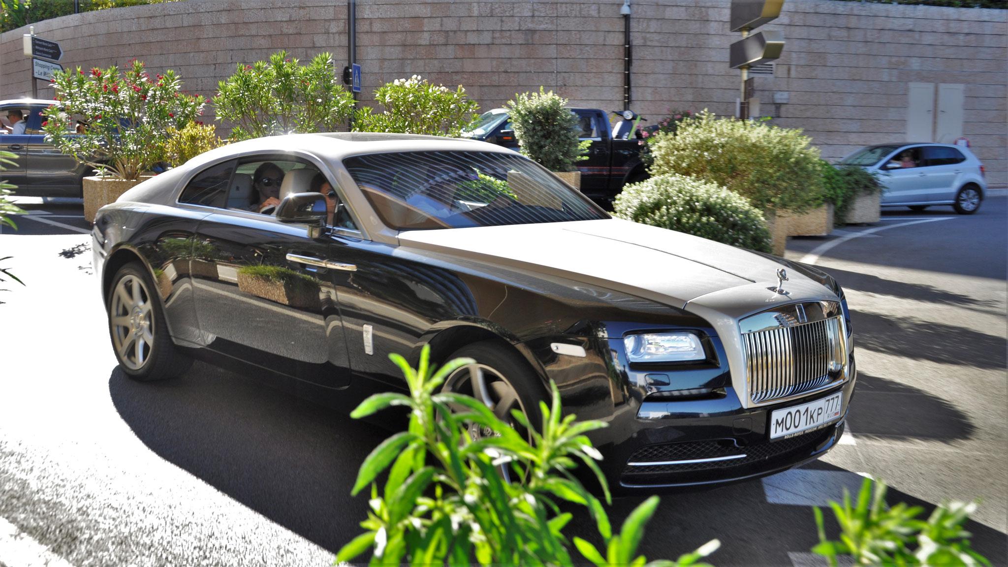 Rolls Royce Wraith - M-001-KP-777 (RUS)