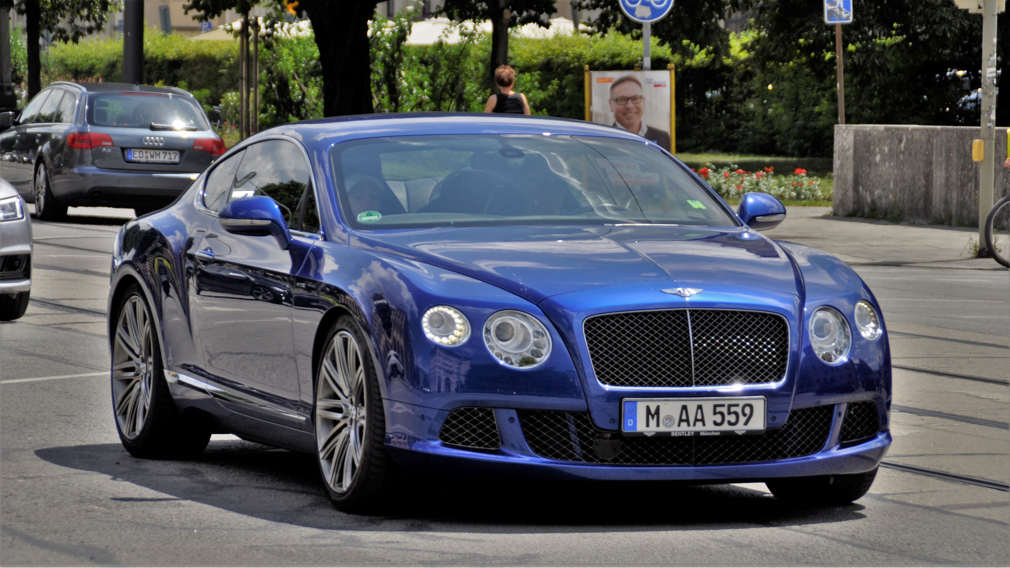 Bentley Continental GT W12 - M-AA-559