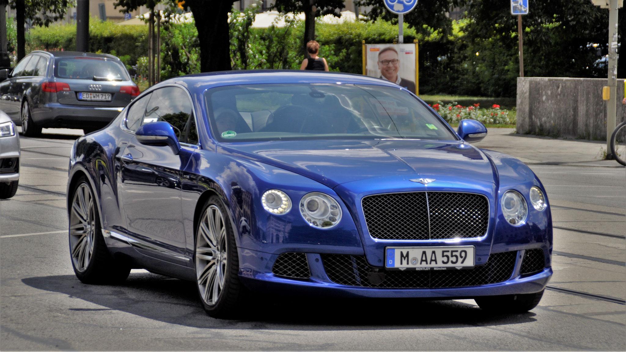 Bentley Continental GT W12 - M-AA-559