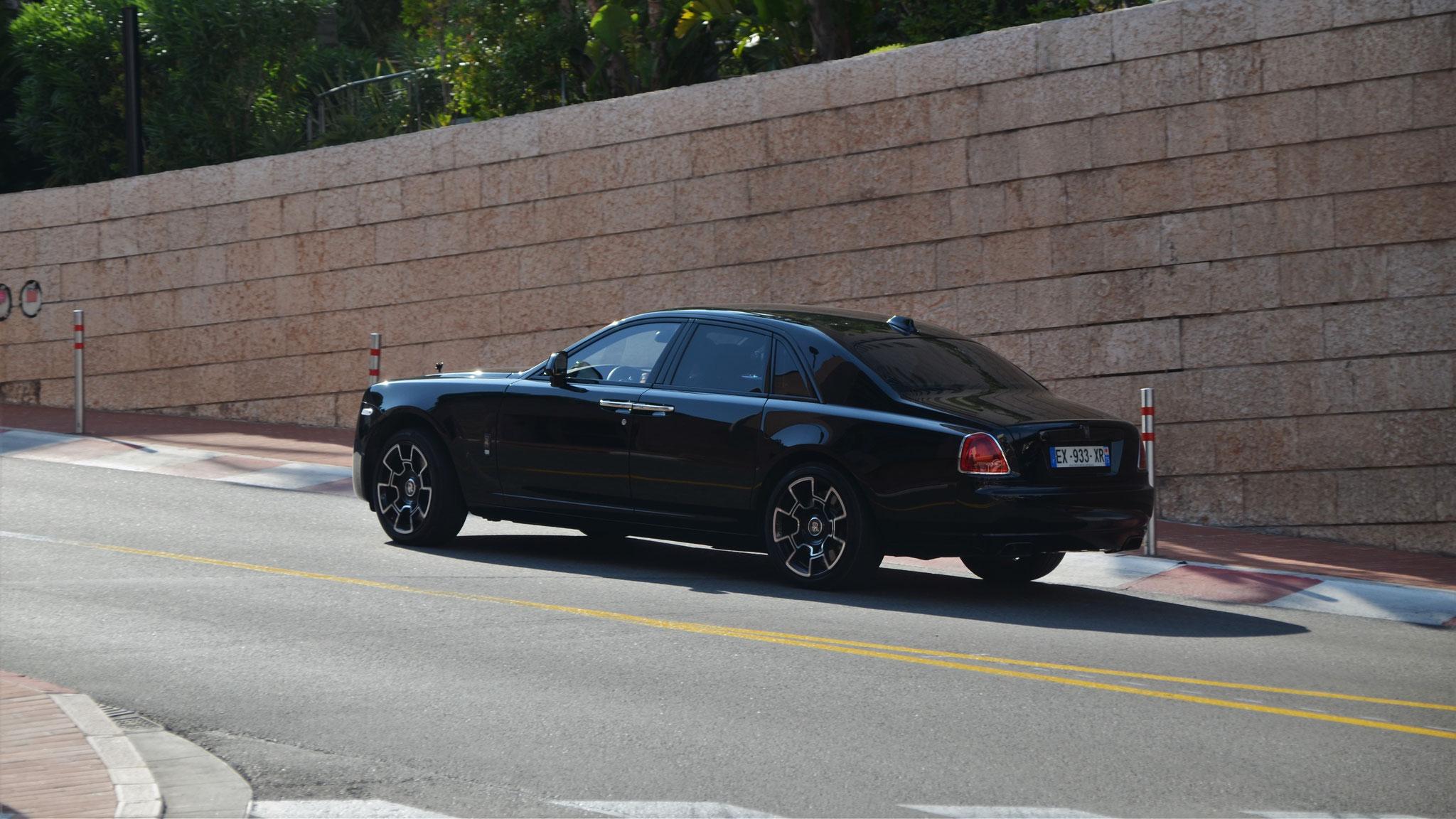 Rolls Royce Ghost Series II Black Badge - EX-933-XR-75 (FRA)