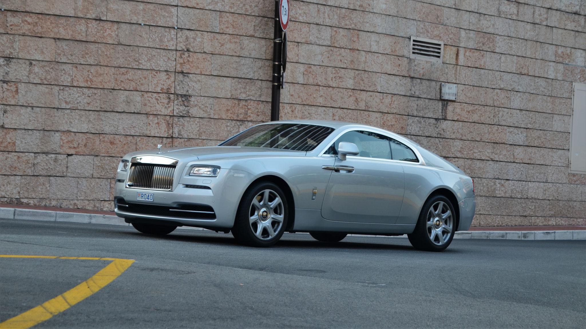 Rolls Royce Wraith - R040 (MC)