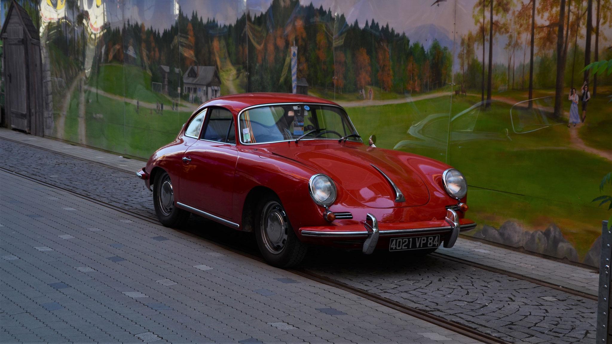Porsche 356 1600 - 4021-VP-84 (FRA)