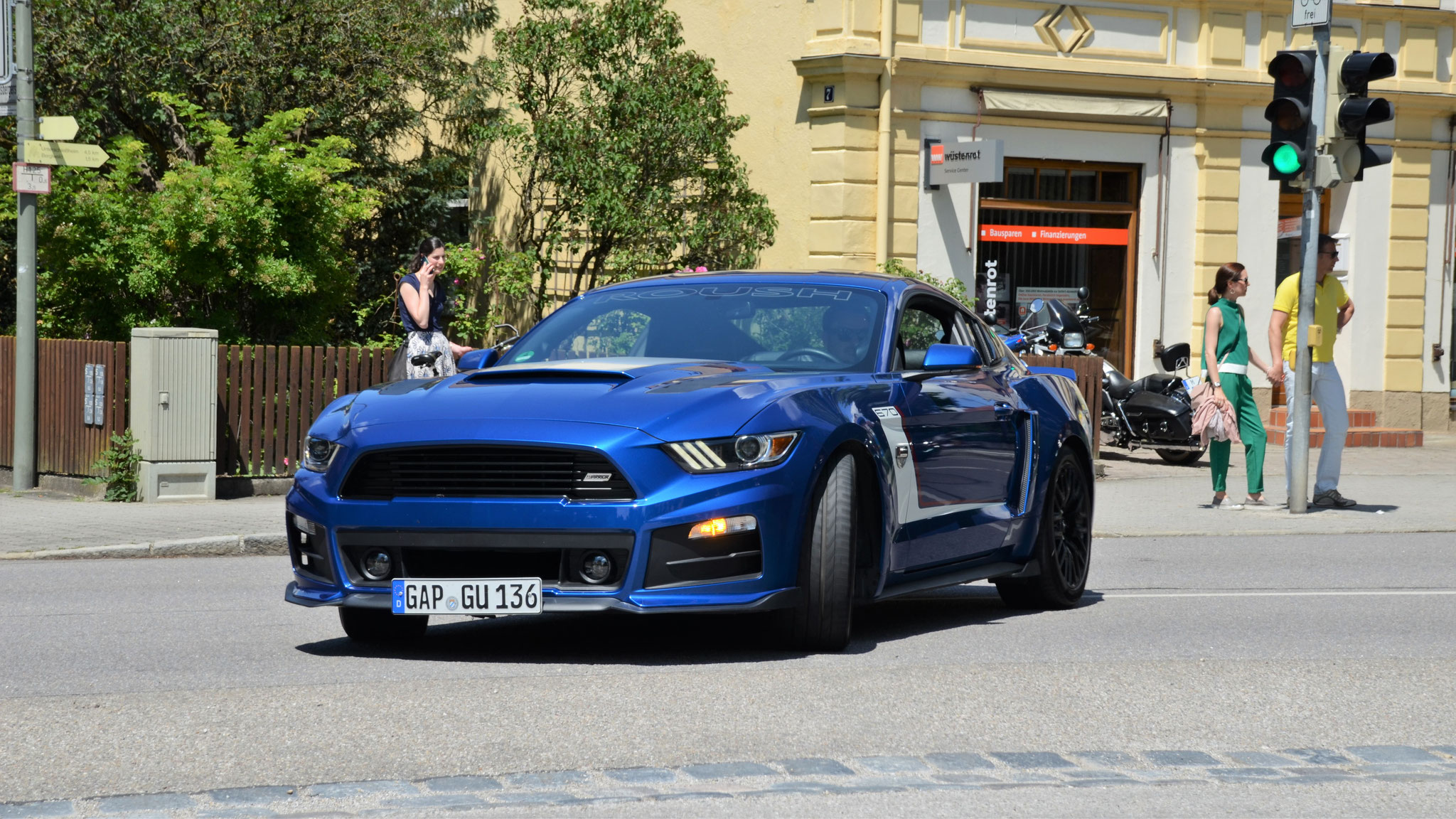 Ford Mustang Rush Warrior 670 - GAP-GU-136