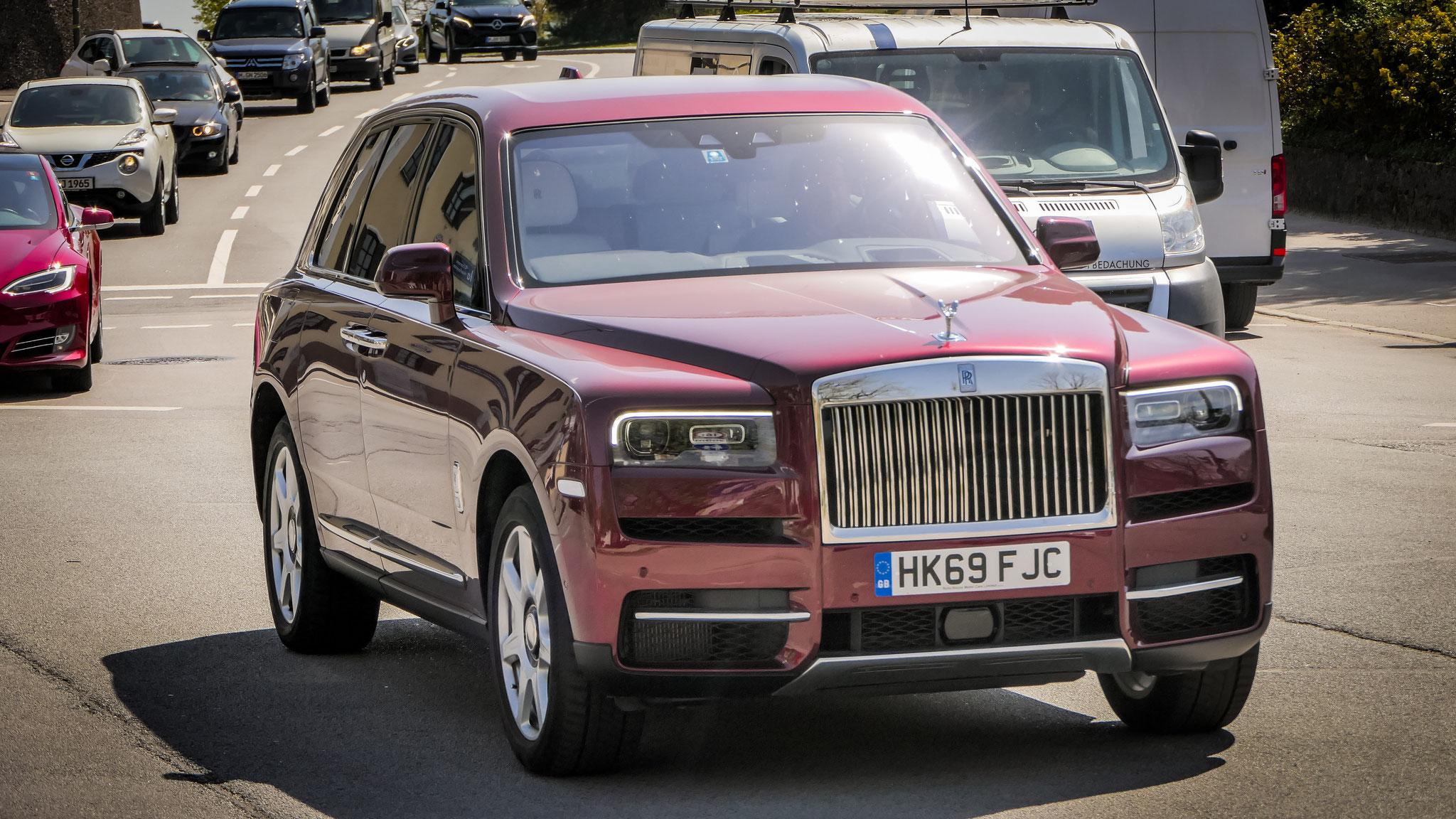 Rolls Royce Cullinan - HK69-FJC (GB)