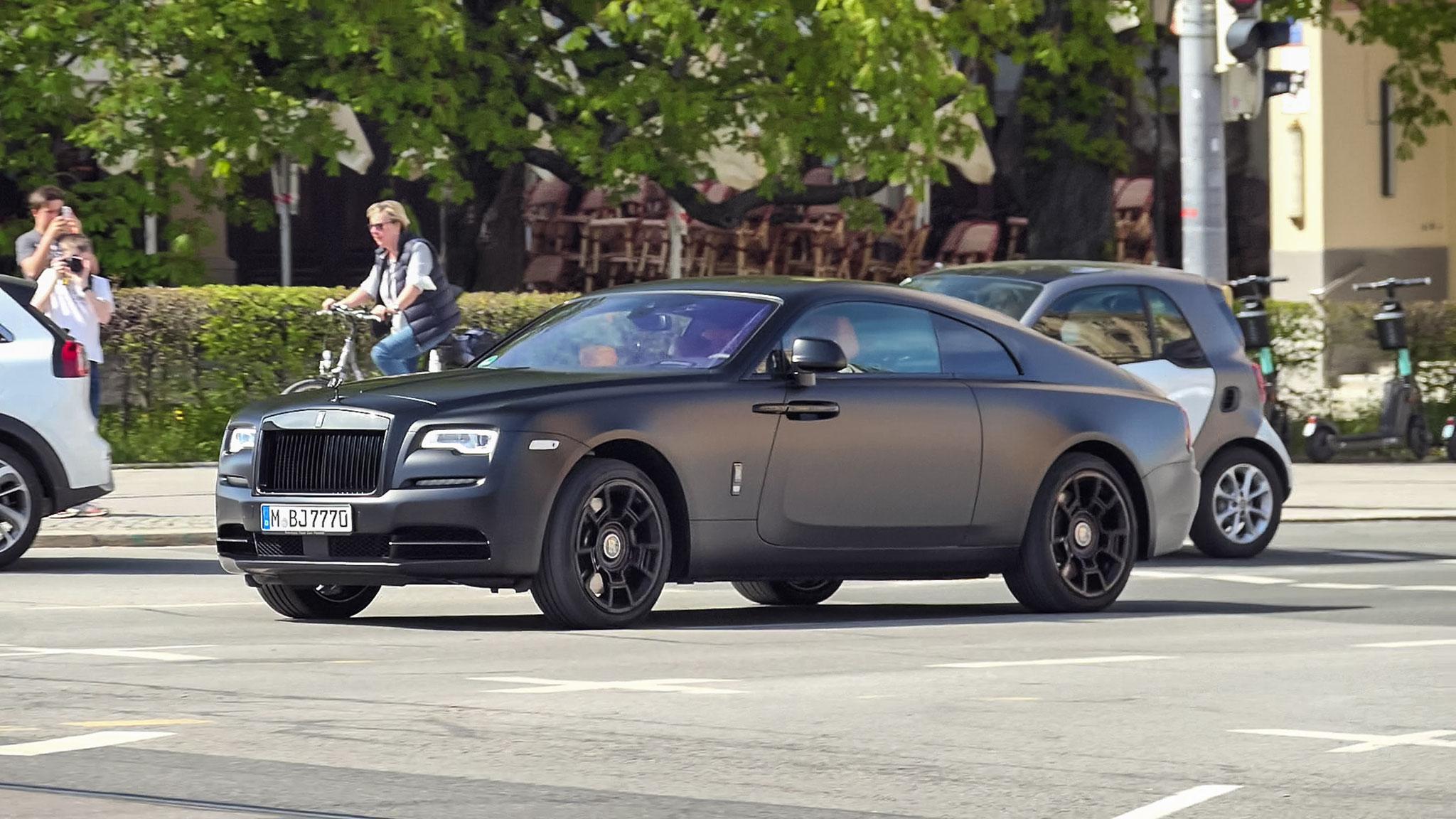 Rolls Royce Wraith - M-BJ-7770