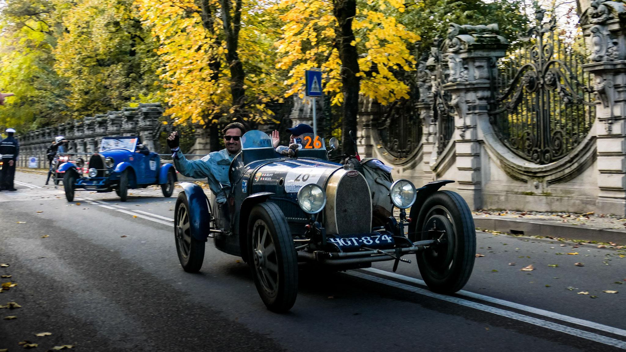 Bugatti Type 37 A - HGT-874 (ITA)