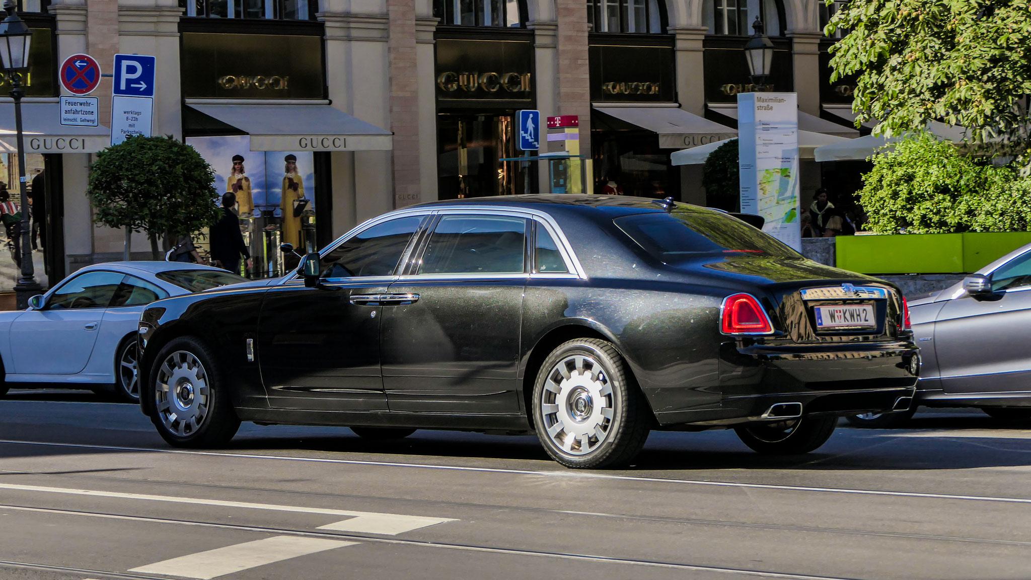 Rolls Royce Ghost Series II - W-KWH-2 (AUT)