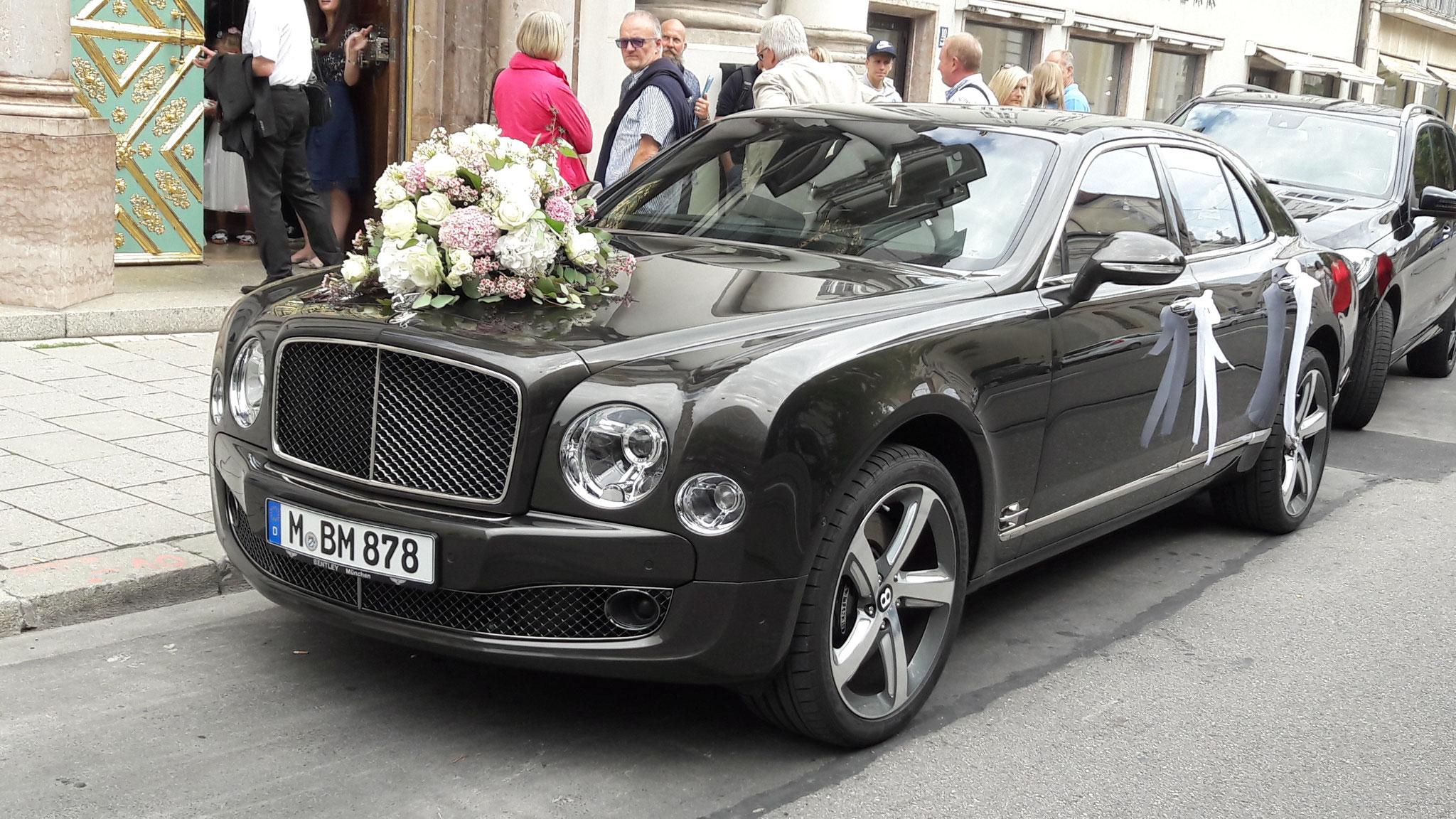 Bentley Mulsanne - M-BM-878