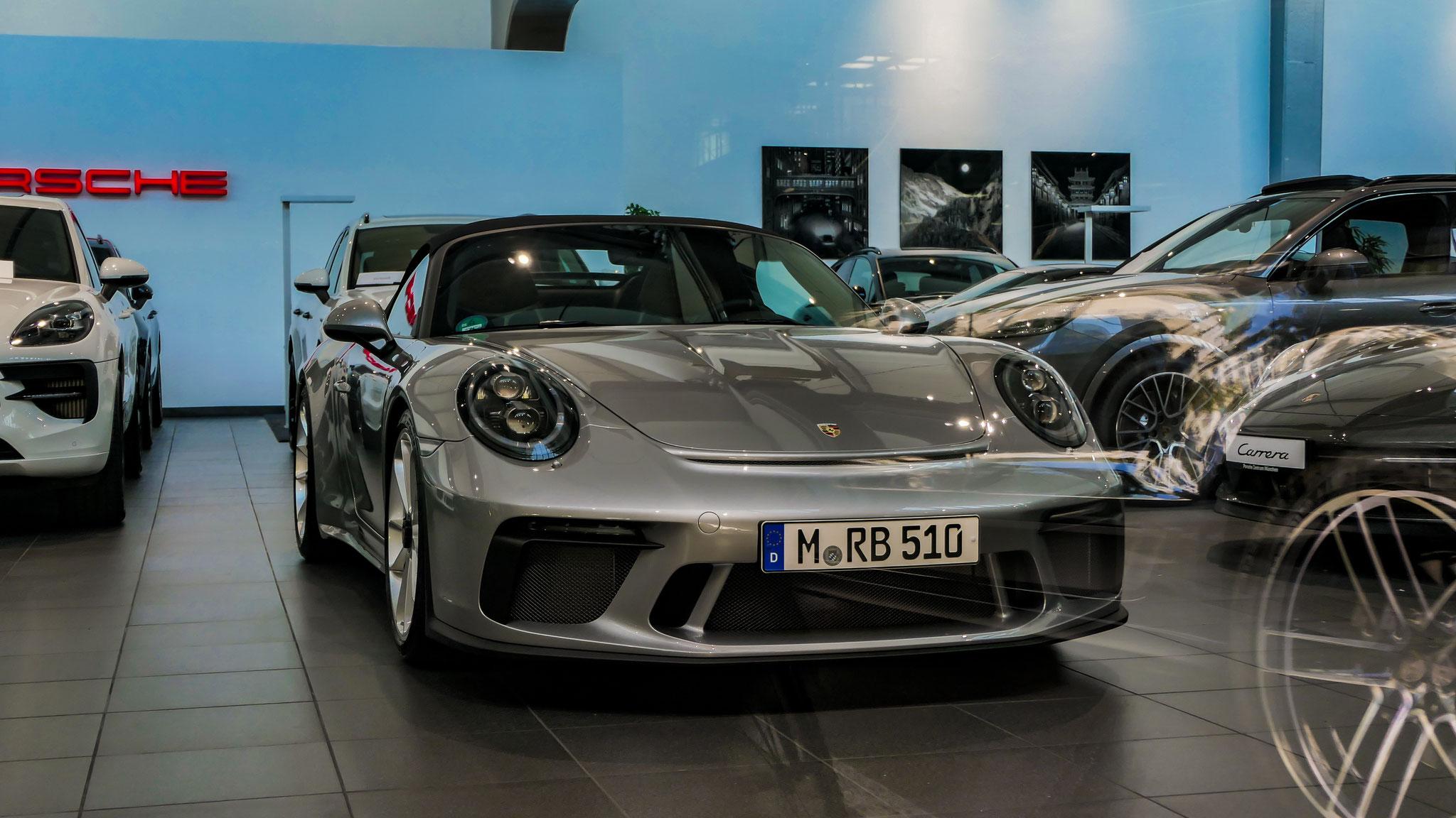 Porsche 991 Speedster - M-RB-510