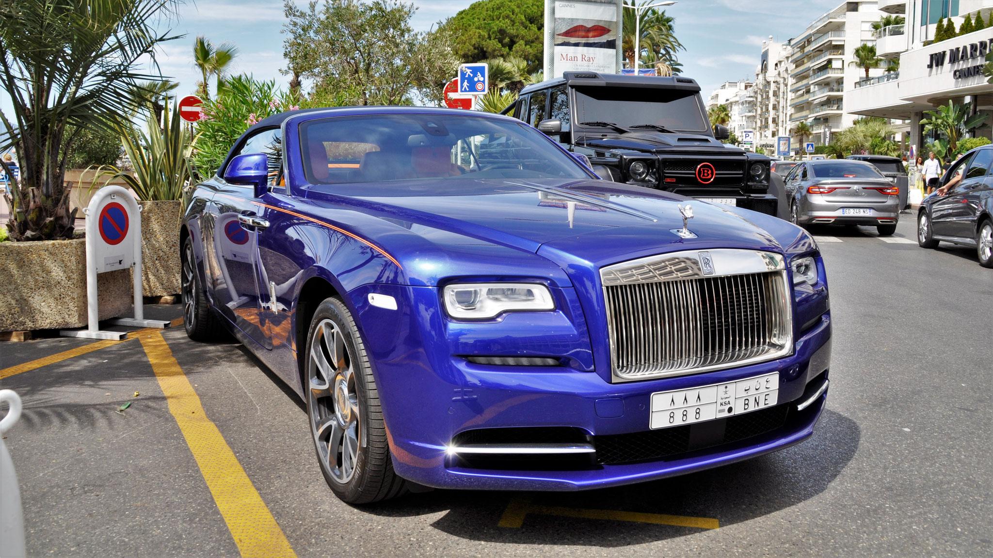 Rolls Royce Dawn - 888-BNE (KSA)