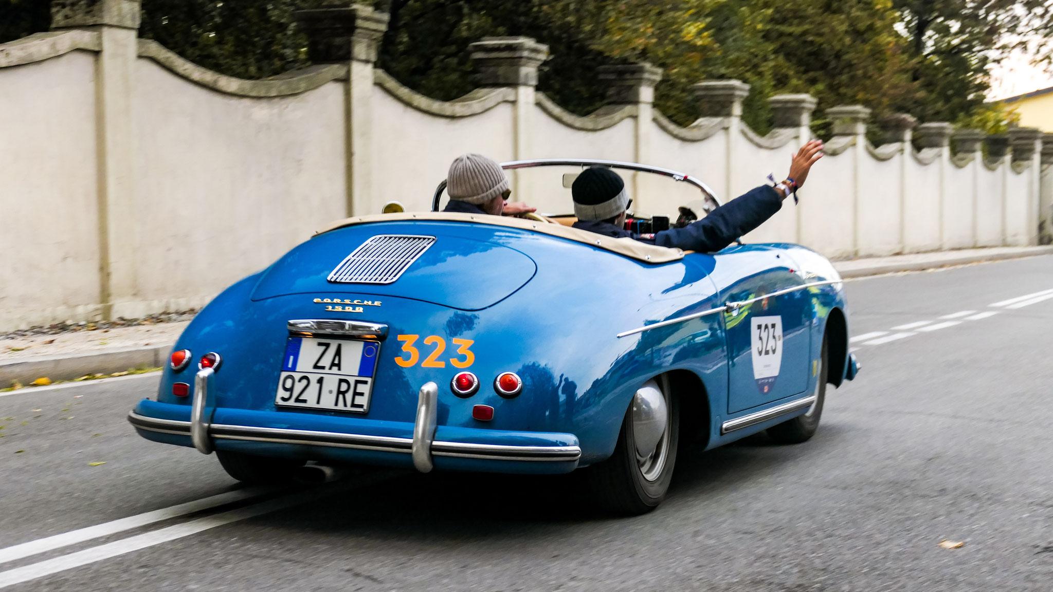 Porsche 356 1500 Speedster - ZA-921-RE (ITA)
