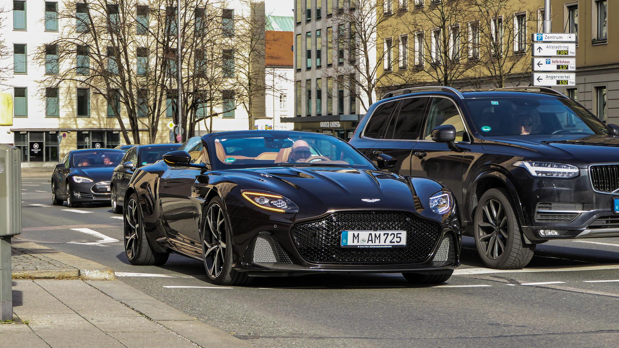 Aston Martin DBS Superleggera Volante - M-AM-725