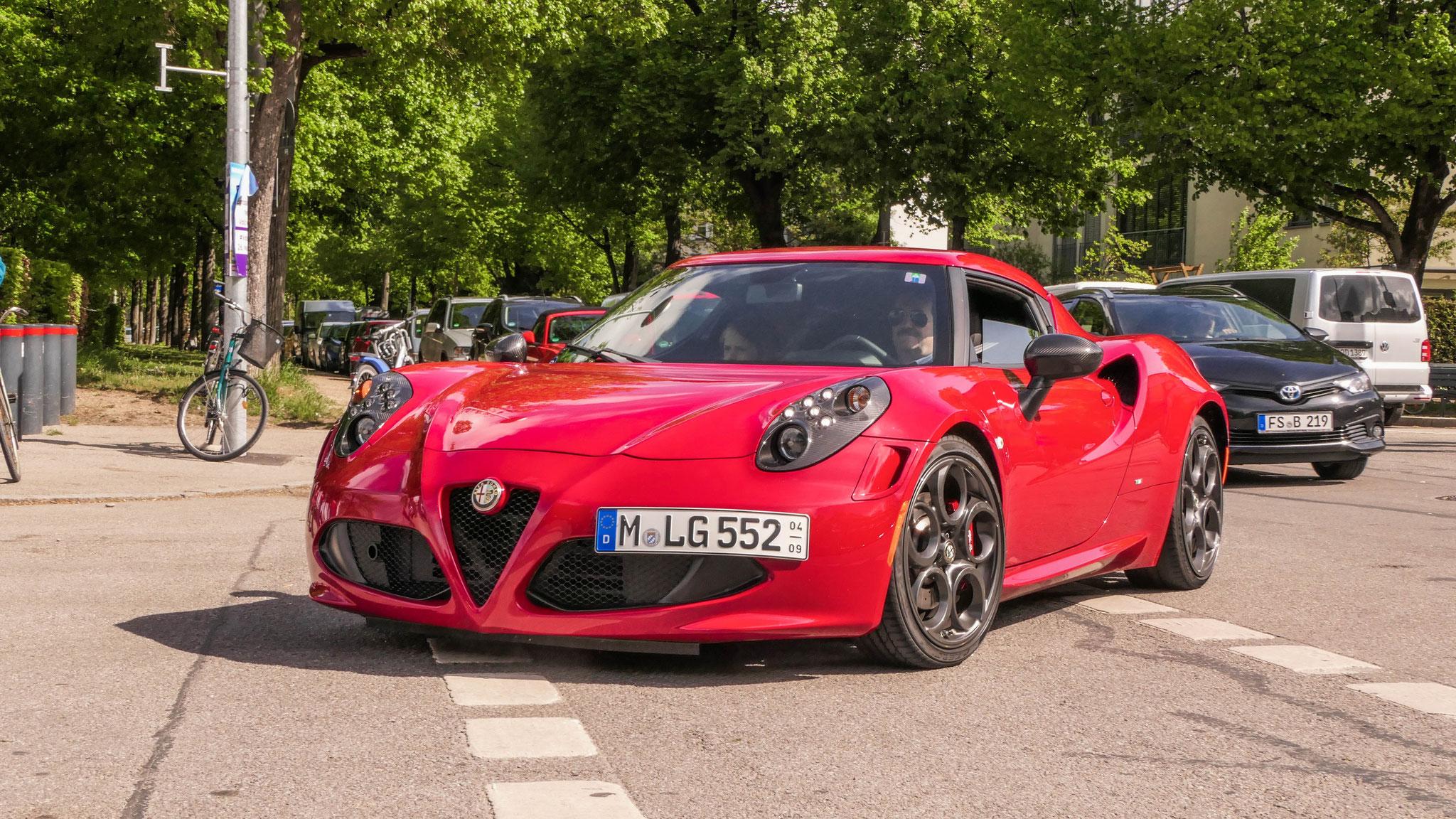 Alfa Romeo 4C - M-LG-552