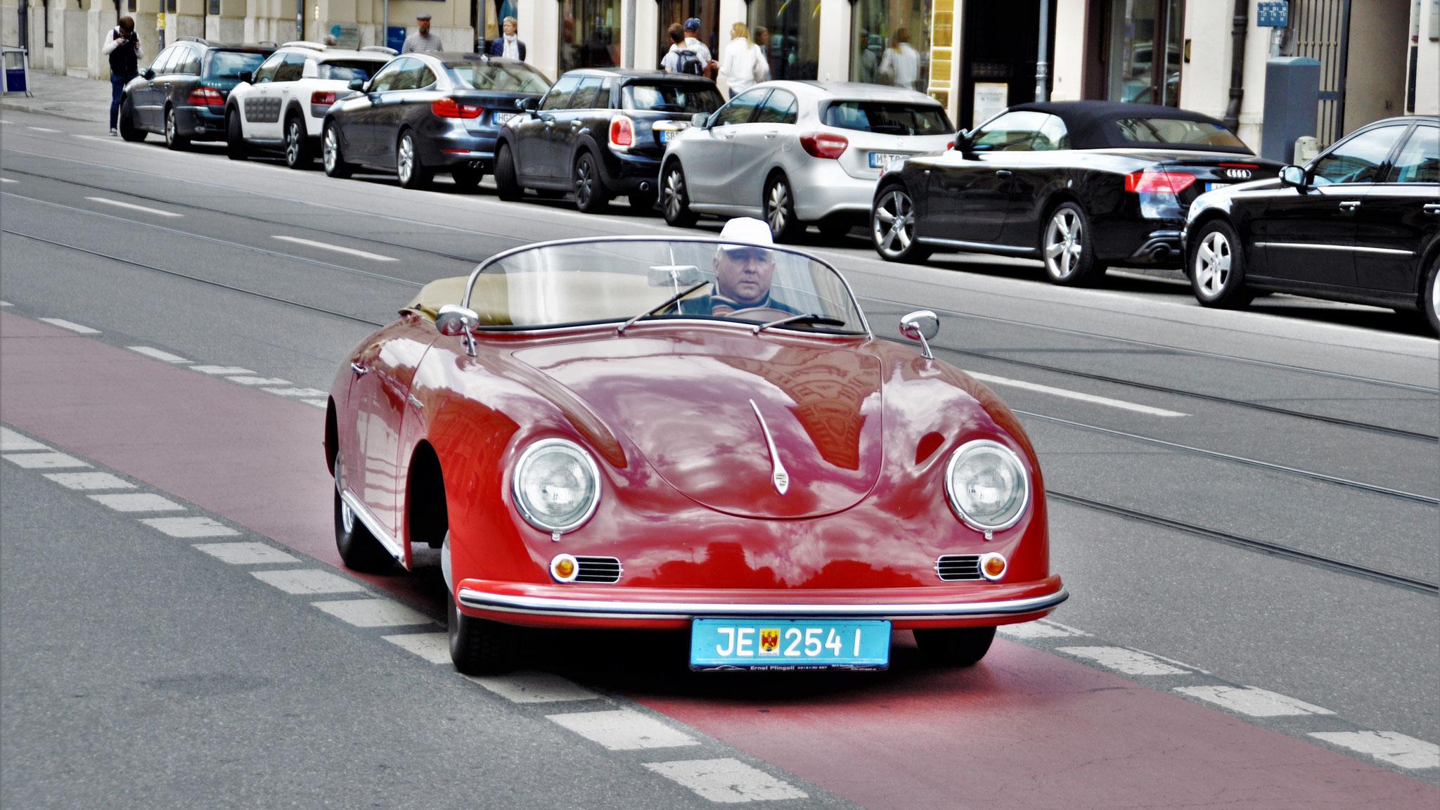 Porsche 356 1500 Speedster - JE-254-I (AUT)