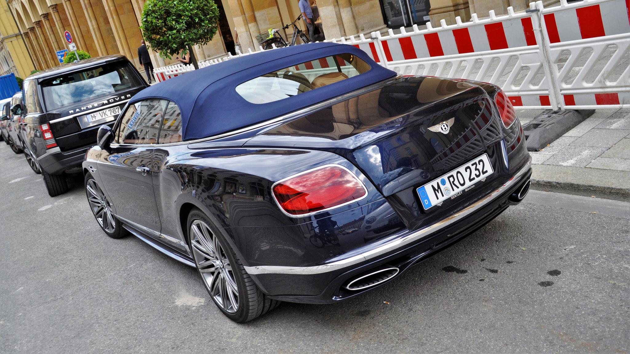 Bentley Continental GTC Speed - M-RO-232