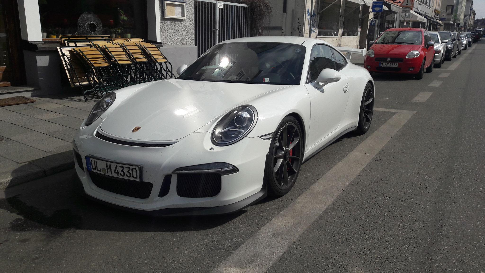 Porsche 991 GT3 - UL-M-4330