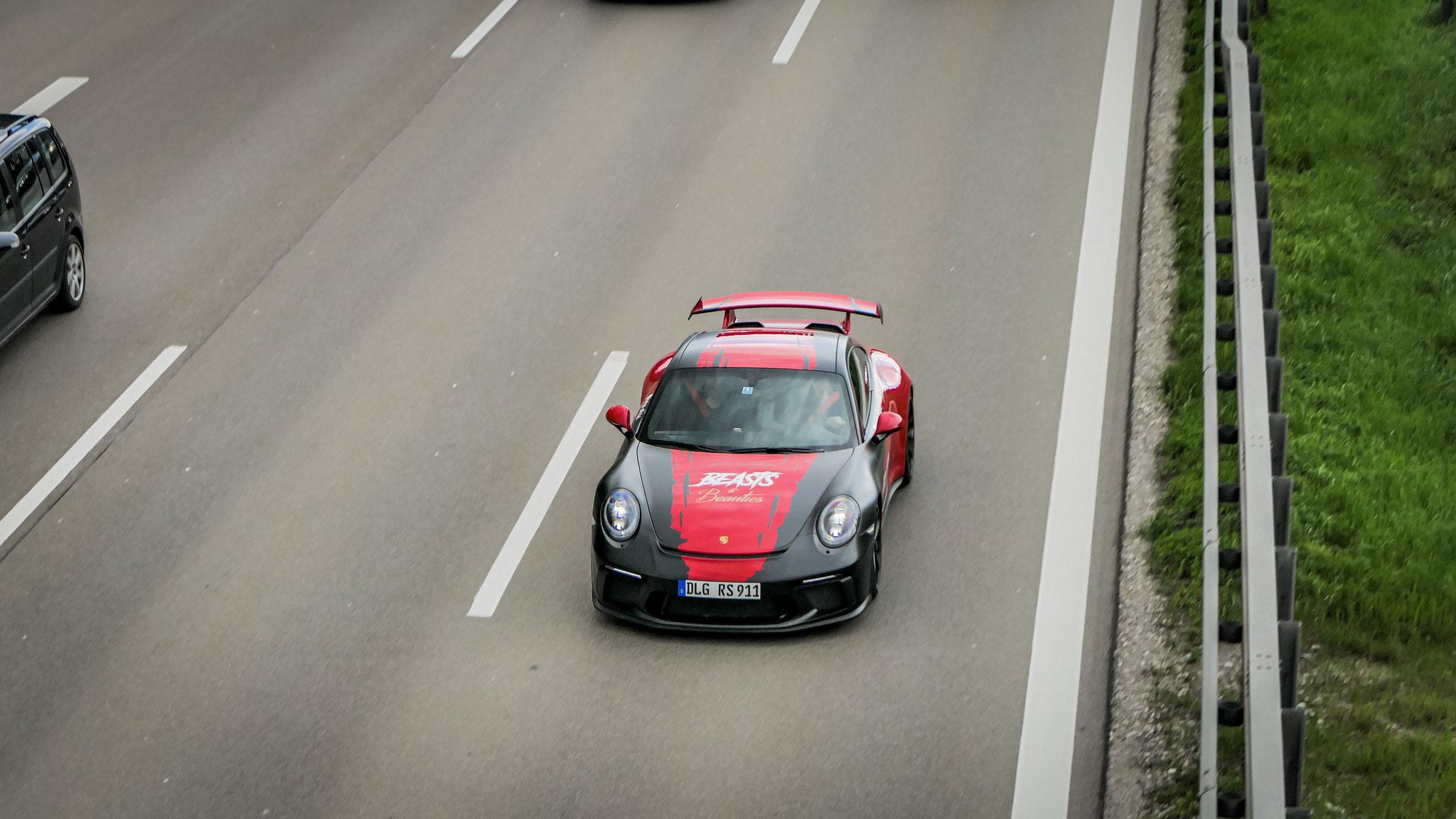 Porsche 991 GT3 - DLG-RS-911