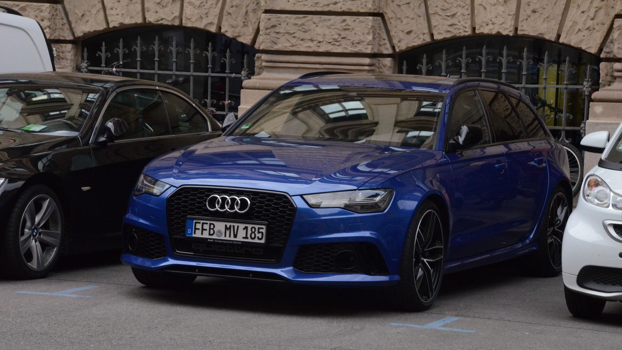 Audi RS6 - FFB-MV-185