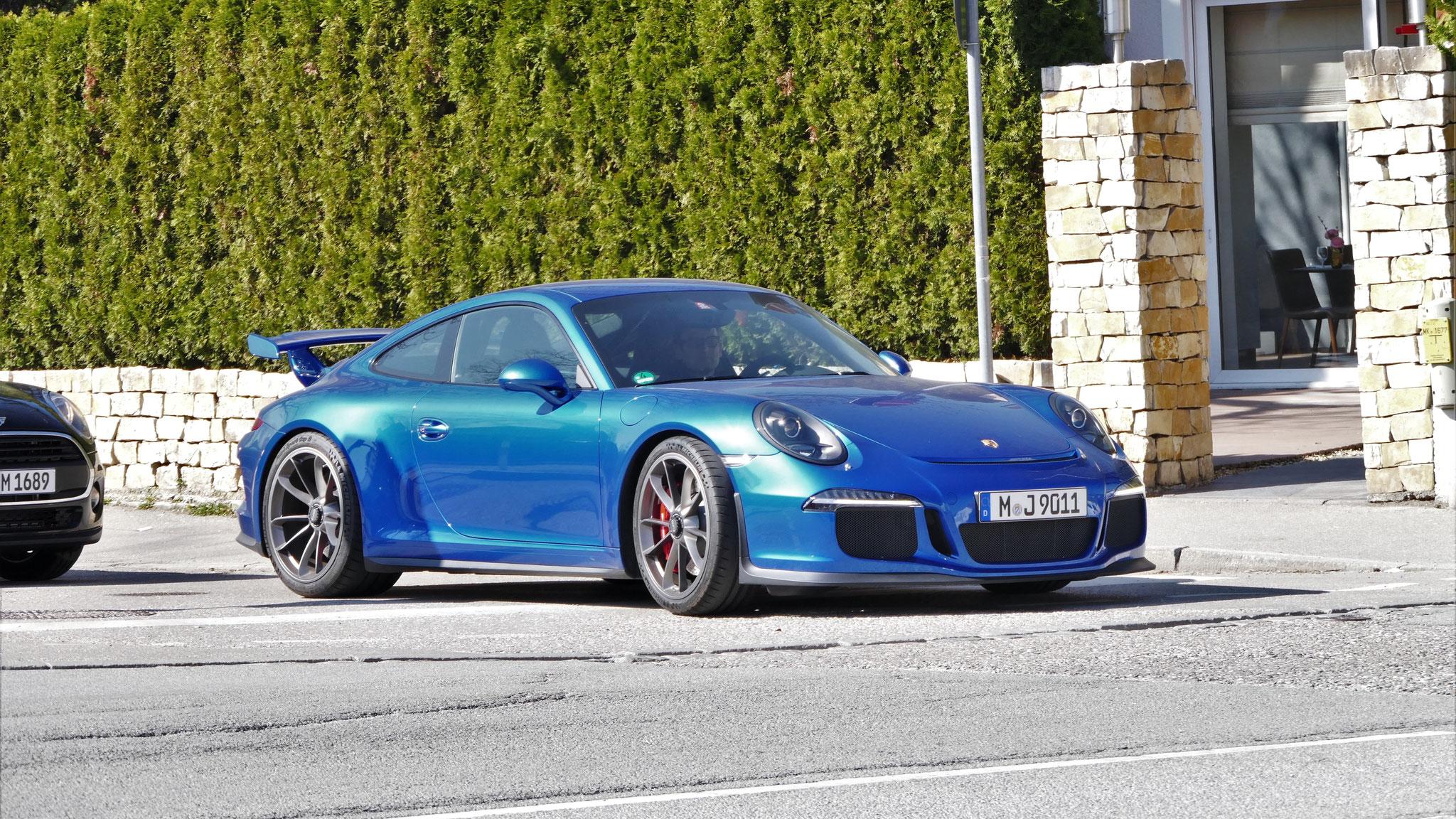 Porsche 991 GT3 - M-J-9011
