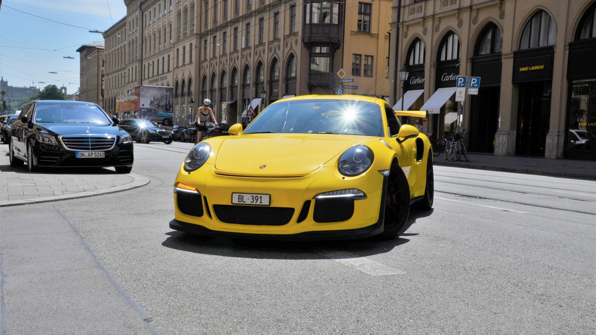 Porsche 911 GT3 RS - BL-391 (CH)
