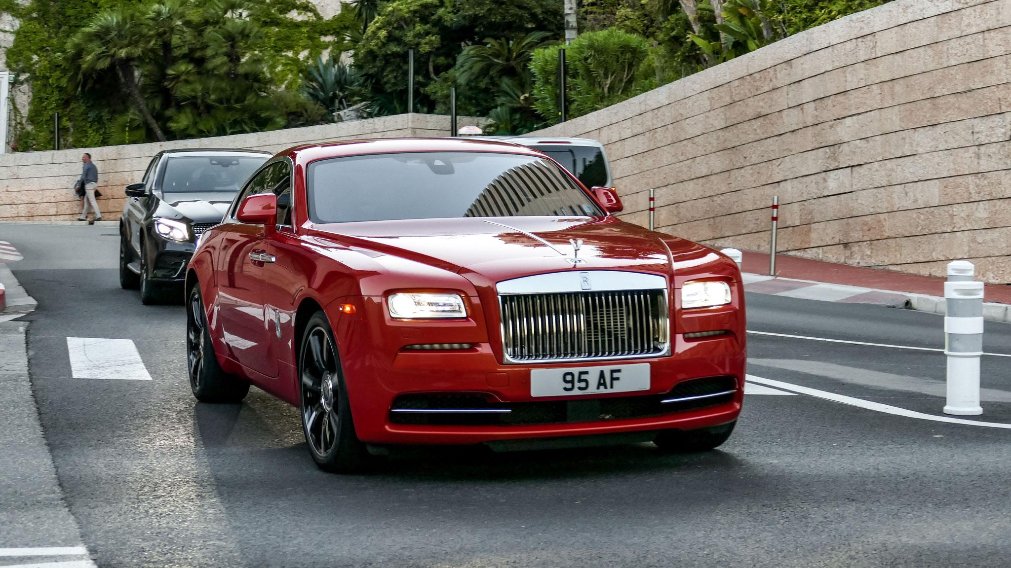 Rolls Royce Wraith - 95-AF (GB)