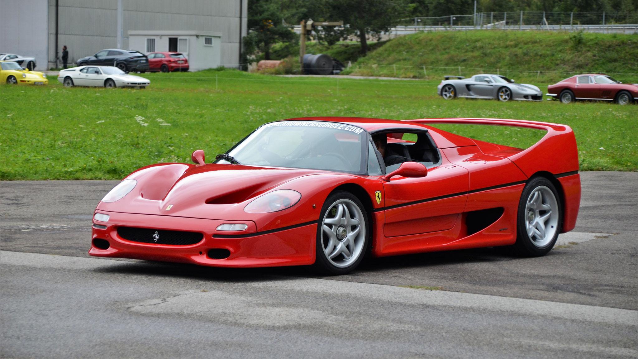 Ferrari F50 - T289-ROU (GB)