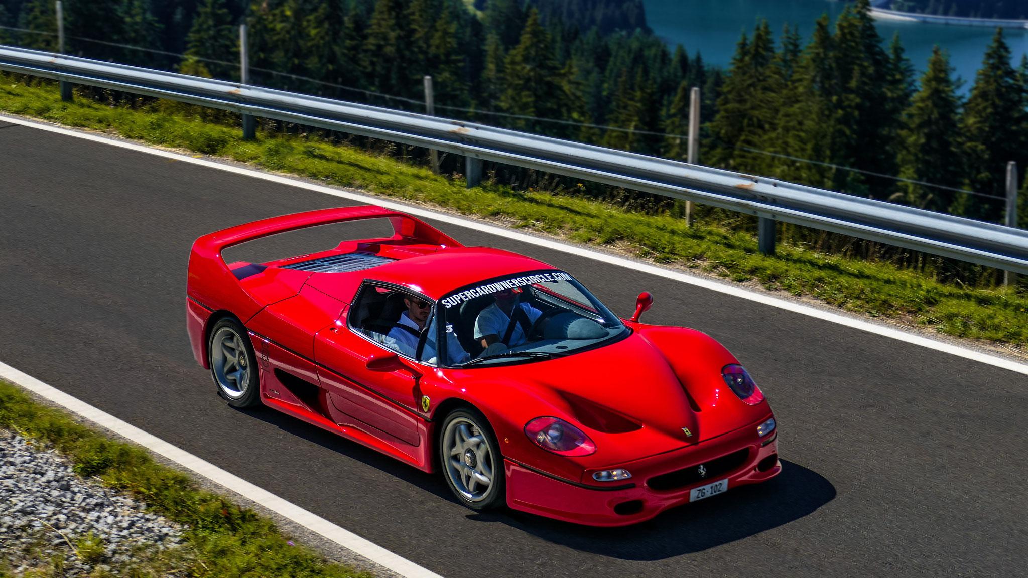 Ferrari F50 - ZG-102 (CH)