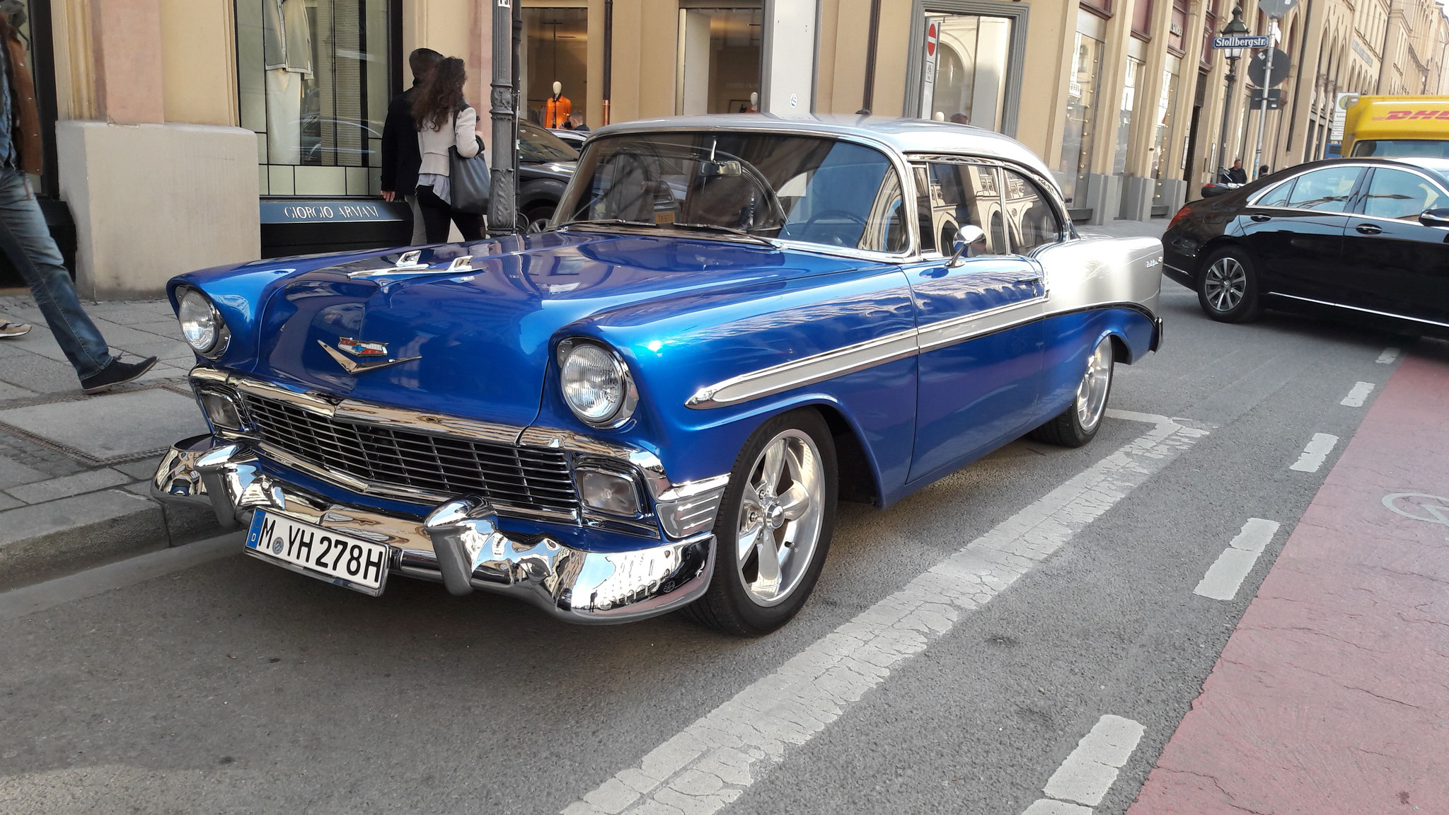Chevrolet Bel Air - M-YH-278H