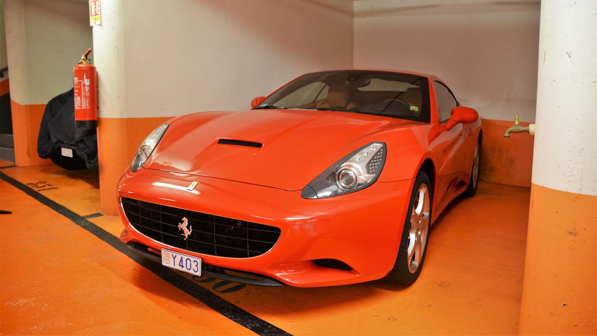Ferrari California - Y403 (MC)