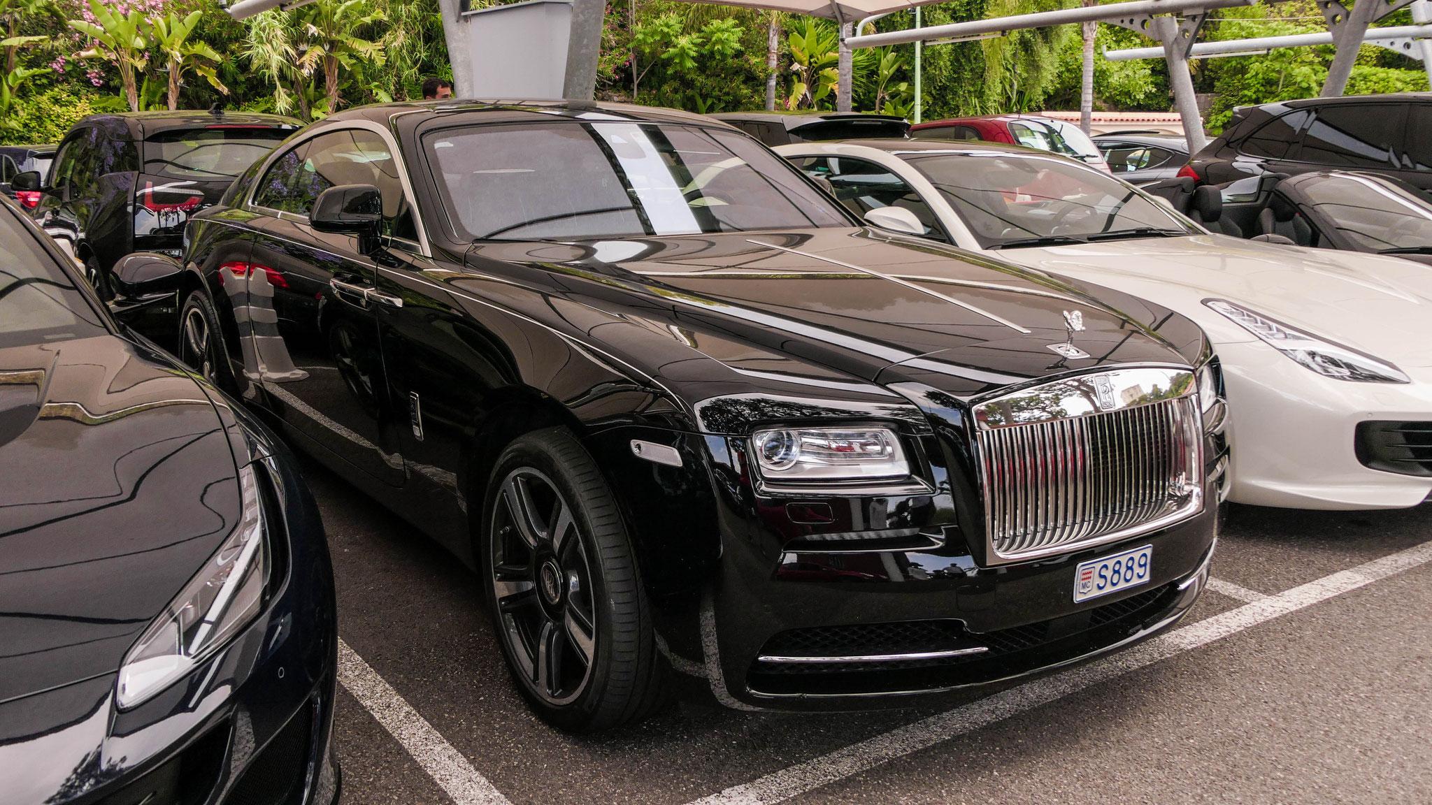 Rolls Royce Wraith - S889 (MC)