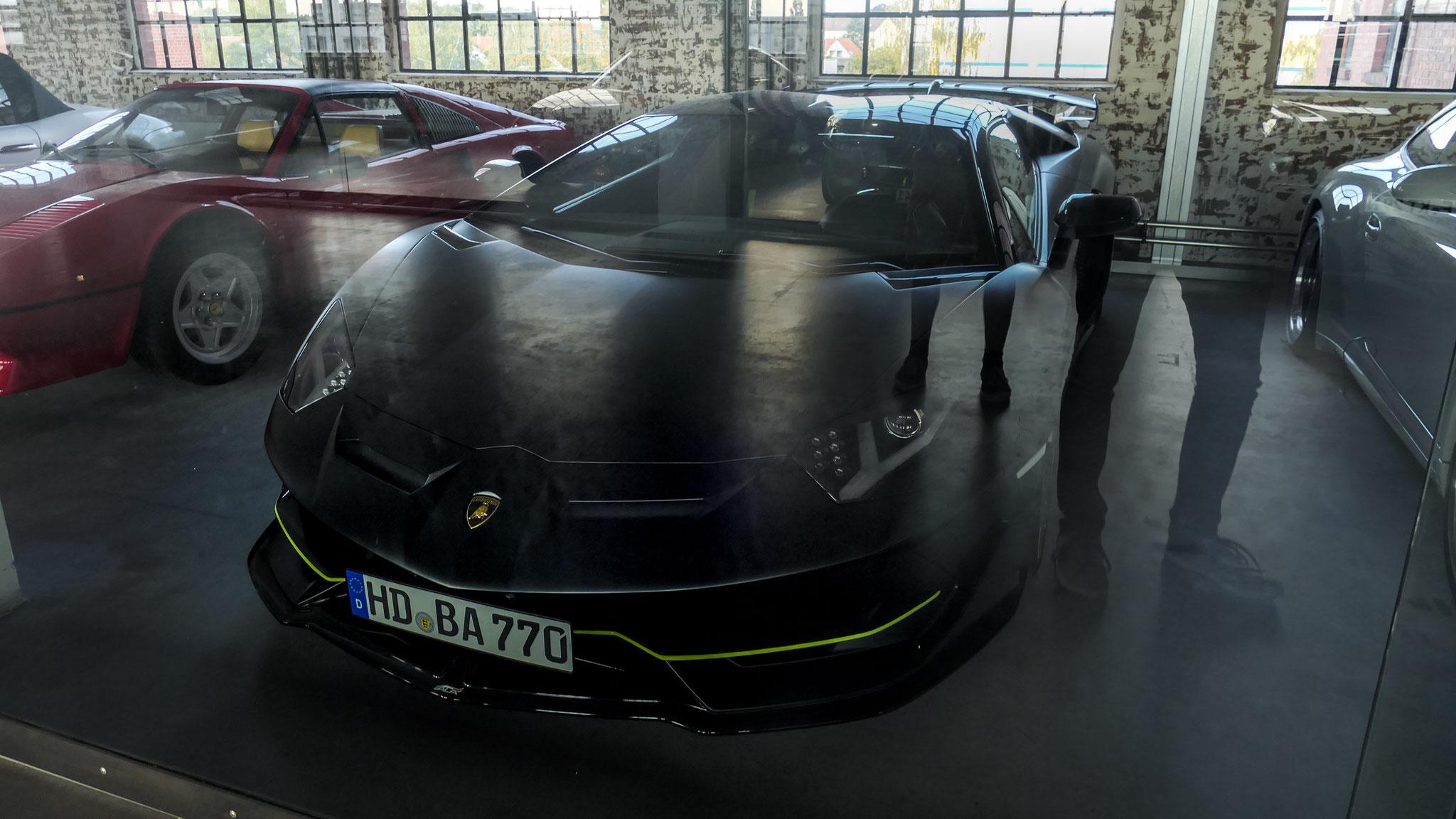 Lamborghini Aventador LP 770 SVJ - HD-BA-770