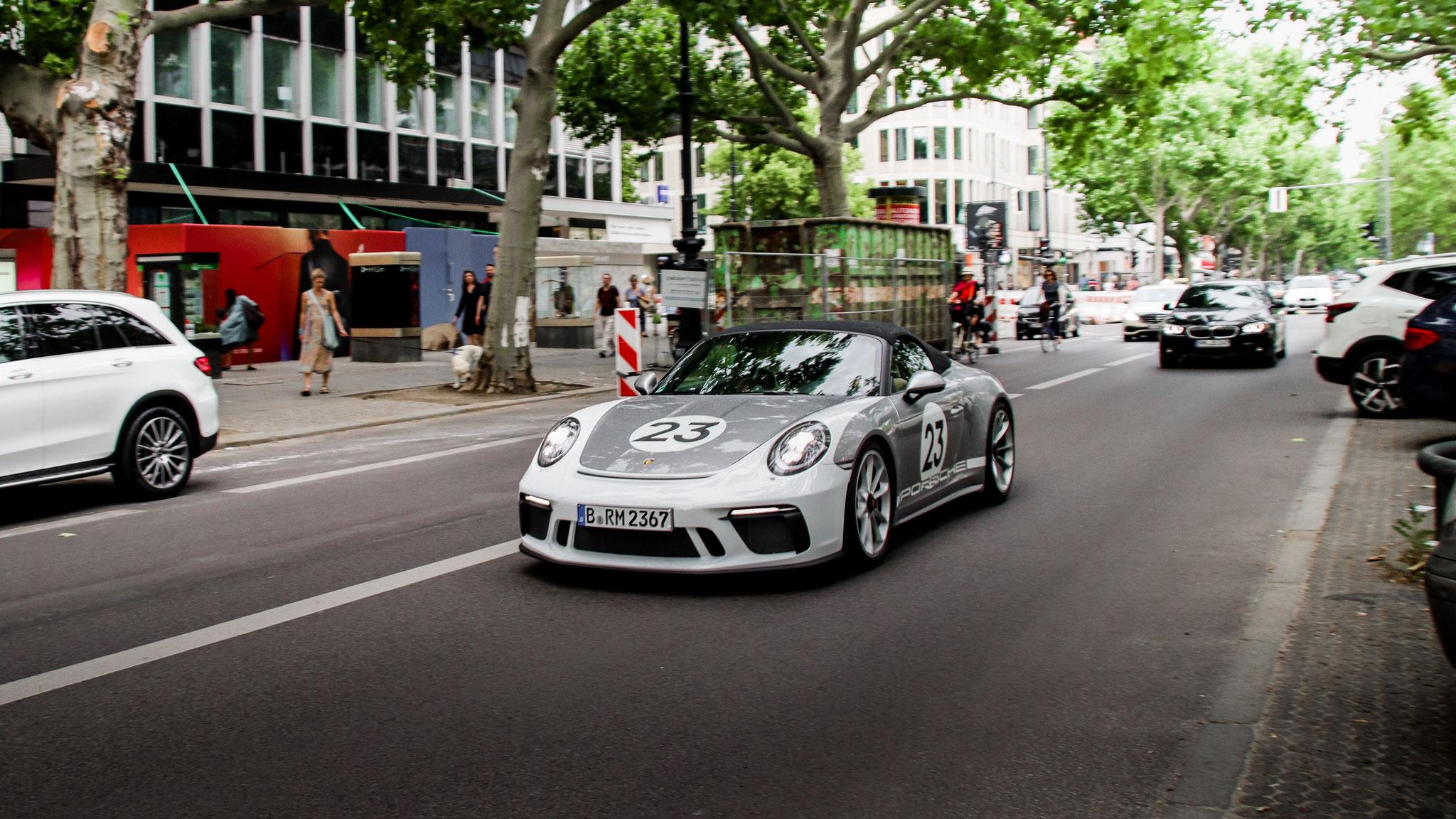 Porsche 991 Speedster - B-RM-2367