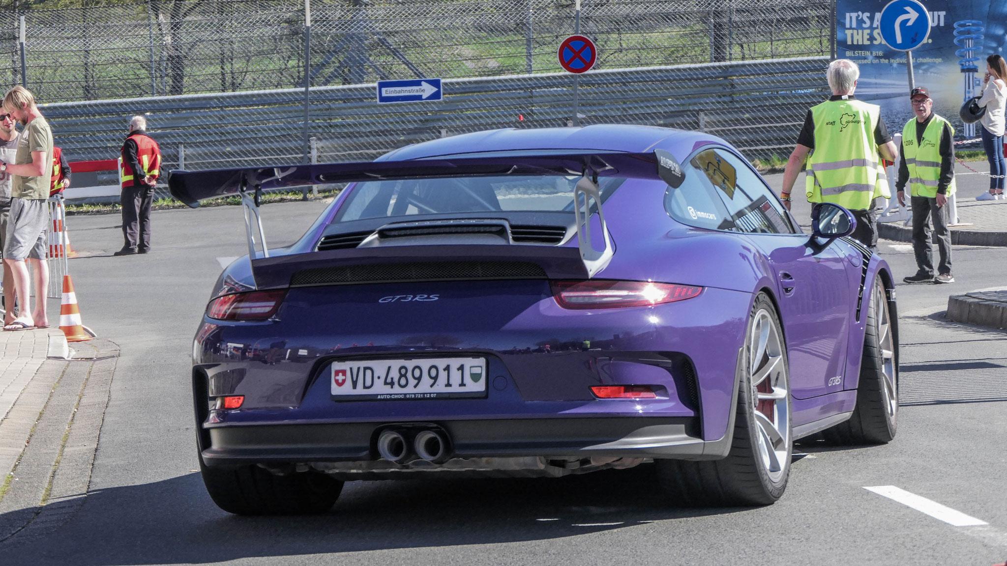 Porsche 911 GT3 RS - VD-489911 (CH)
