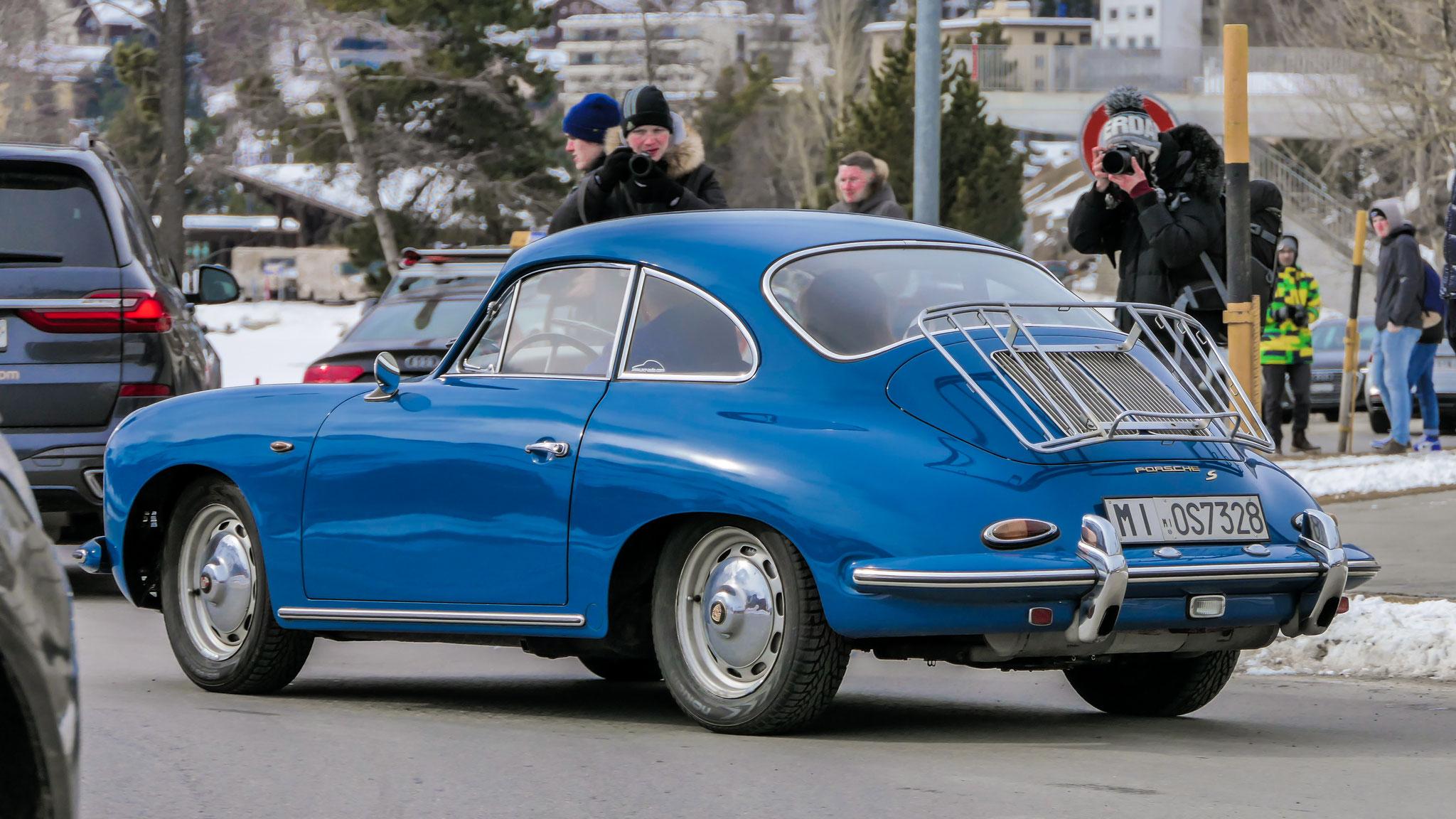 Porsche 356 1600S - MI-OS7328 (ITA)