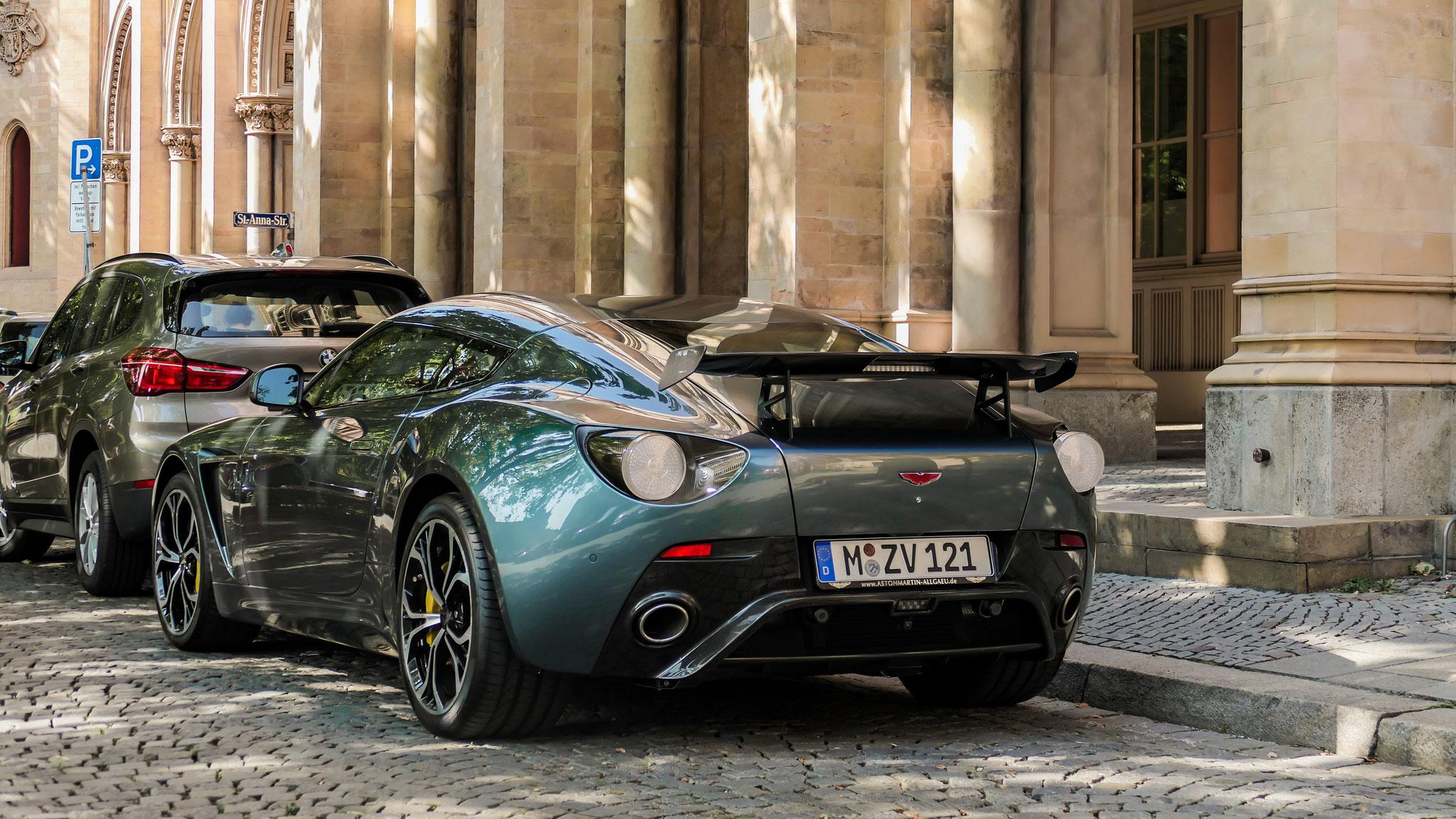 Aston Martin V12 Zagato - M-ZV-121