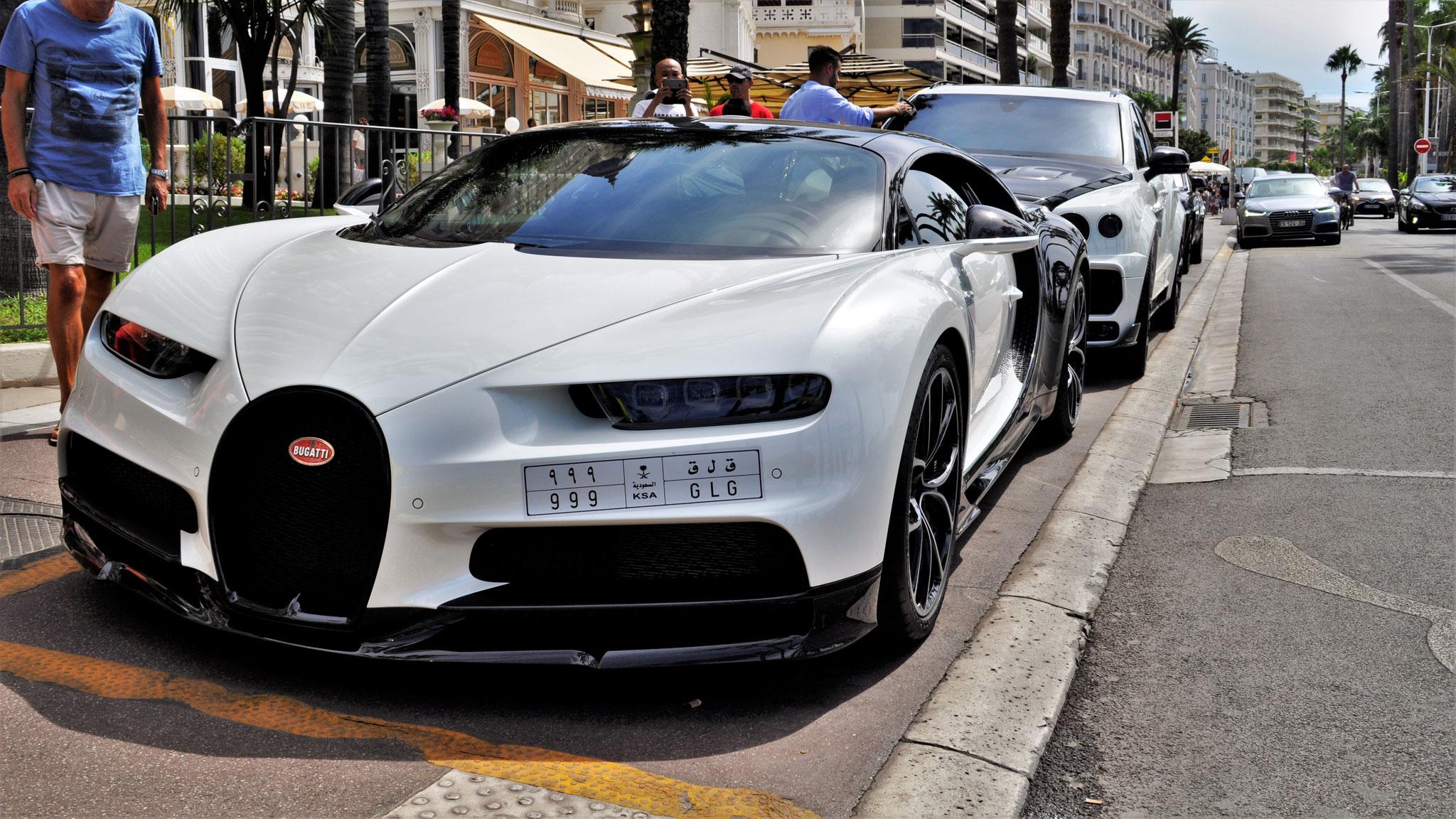 Bugatti Chiron - 999-GLG (KSA)