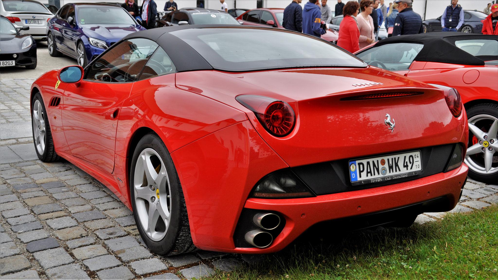 Ferrari California - PAN-WK-49