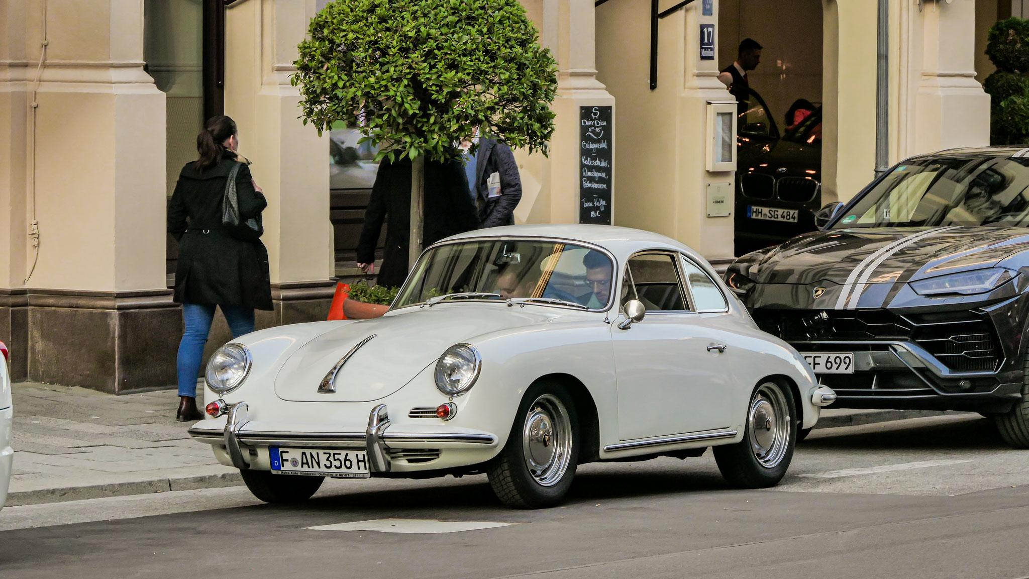 Porsche 356 SC - F-AN-356H