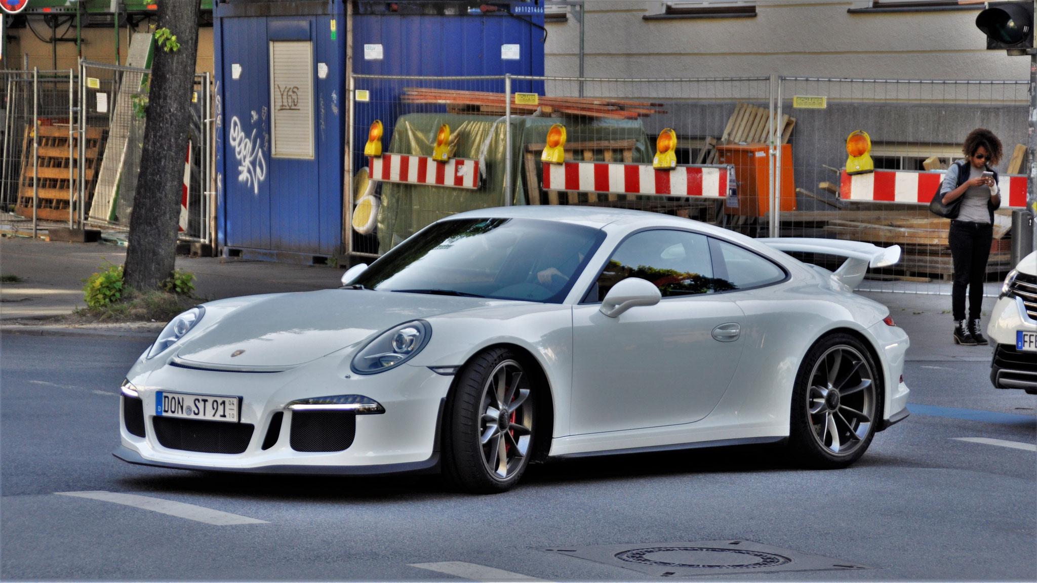 Porsche 991 GT3 - DON-ST-91