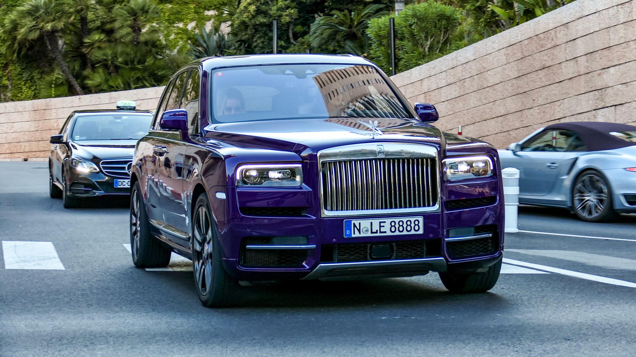 Rolls Royce Cullinan - N-LE-8888