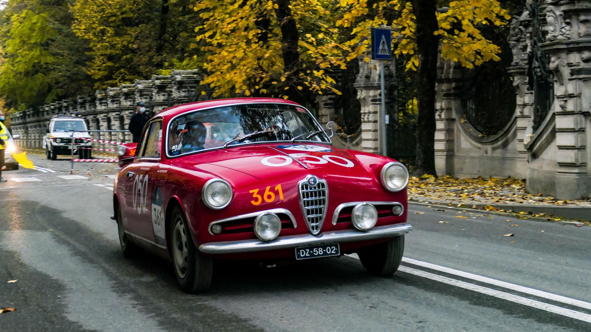 Alfa Romeo 1900C Super Sprint Touring - DZ-58-02 (NL)