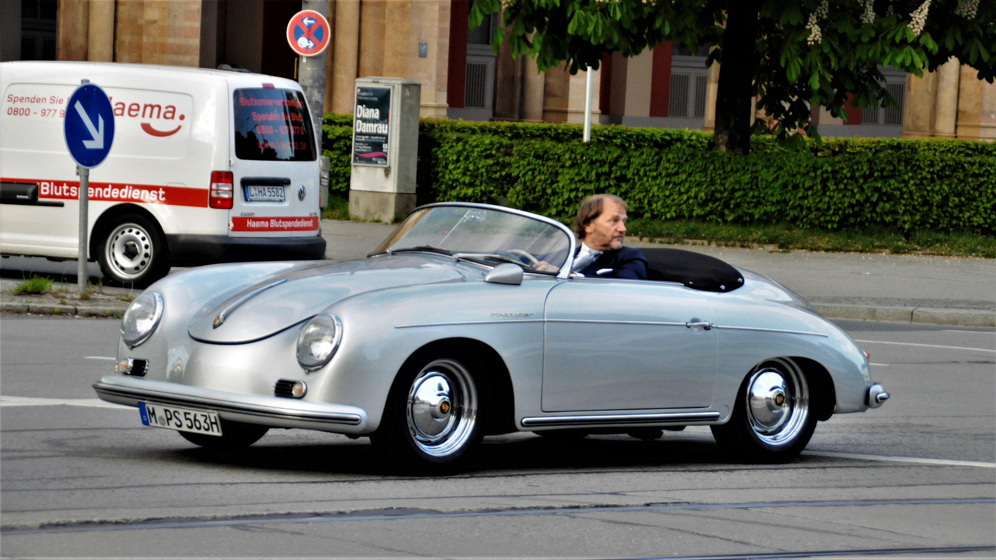 Porsche 356 1500 Speedster - M-PS-563H