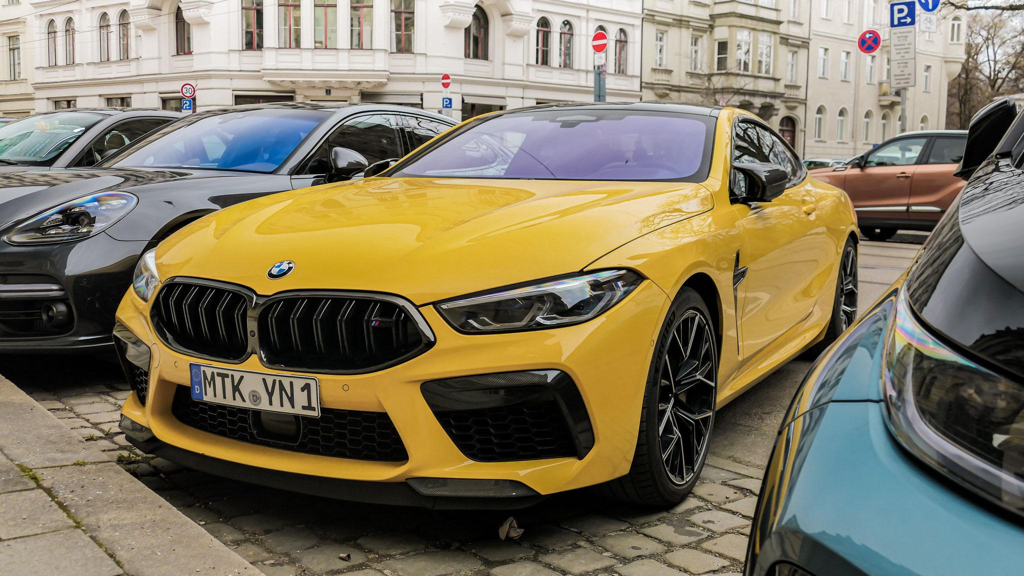 BMW M8 Competition - MTK-YN-1