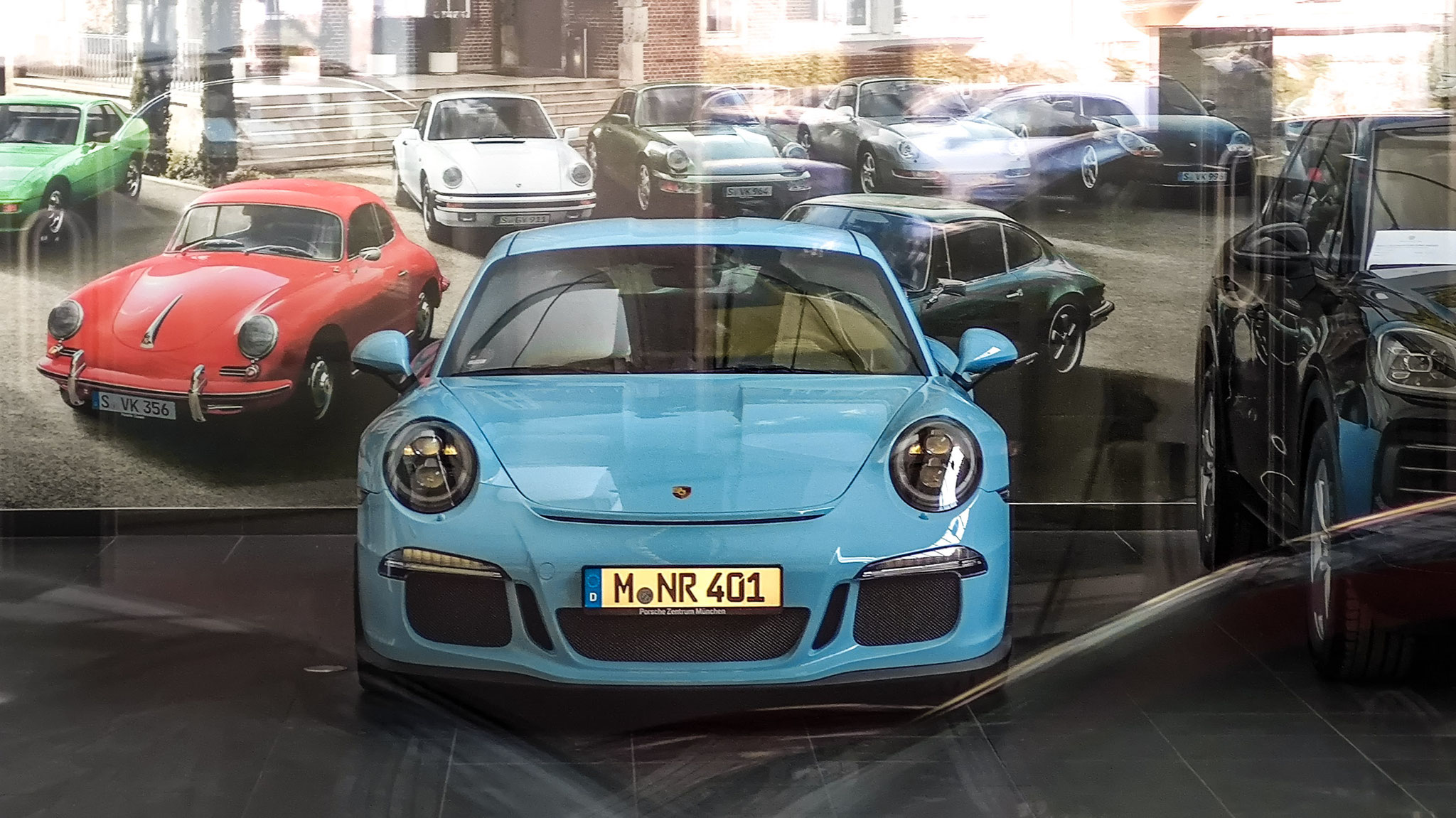 Porsche 911 R - M-NR-401