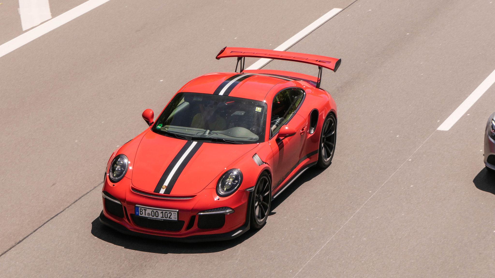 Porsche 911 GT3 RS - BT-OO-102