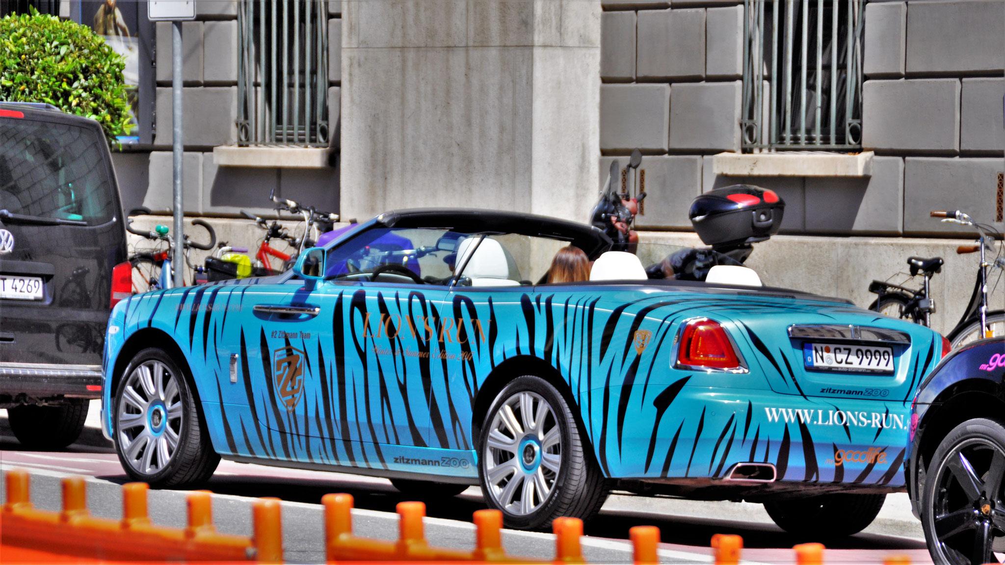 Rolls Royce Dawn - N-CZ-9999
