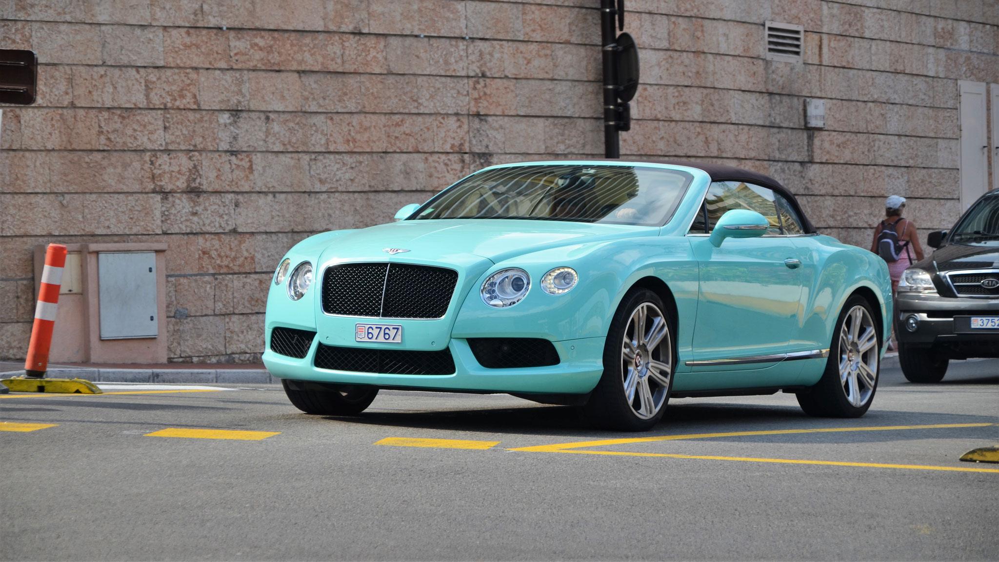 Bentley Continental GTC  - 6767 (MC)