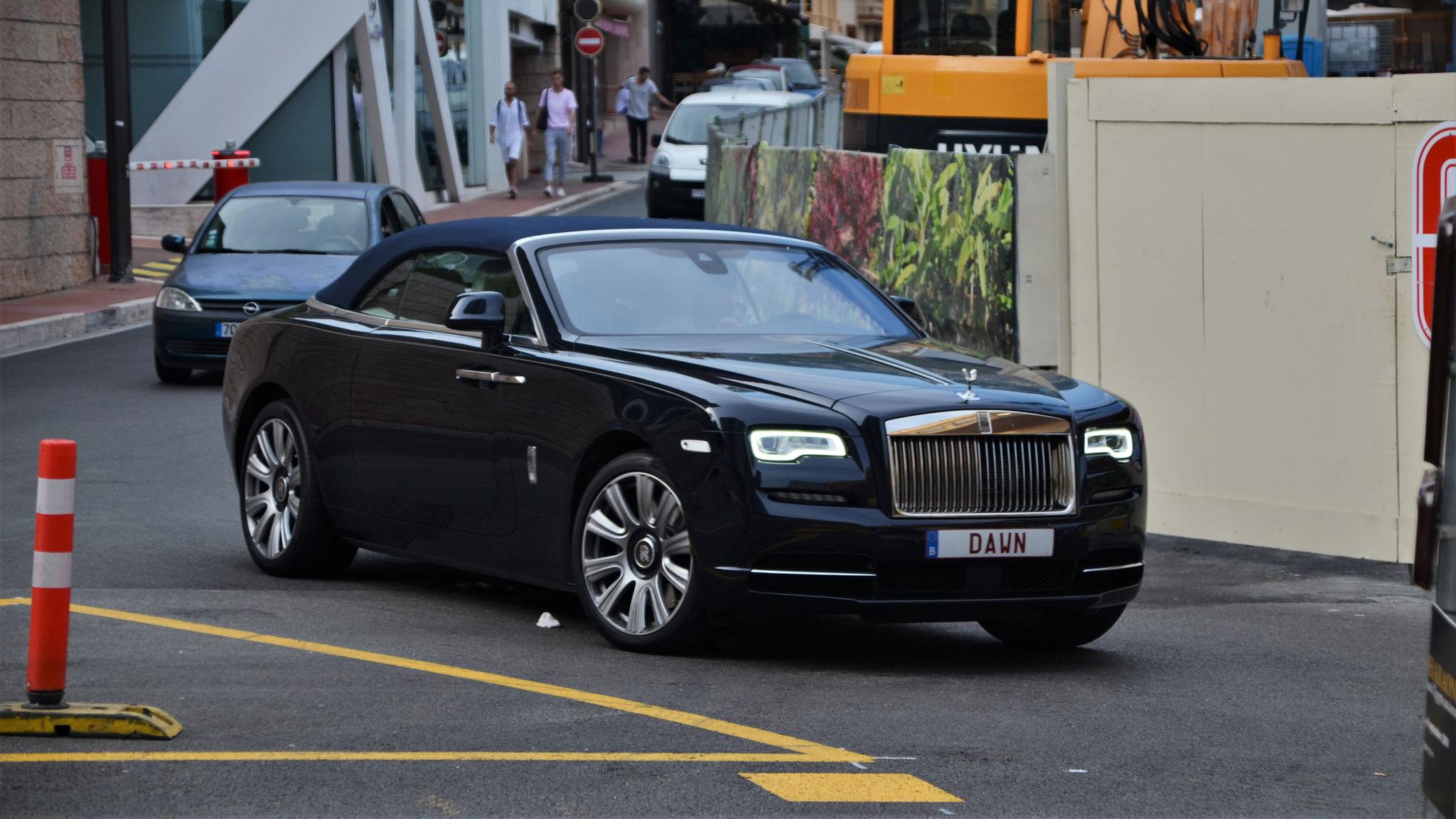 Rolls Royce Dawn - DAWN (BEL)