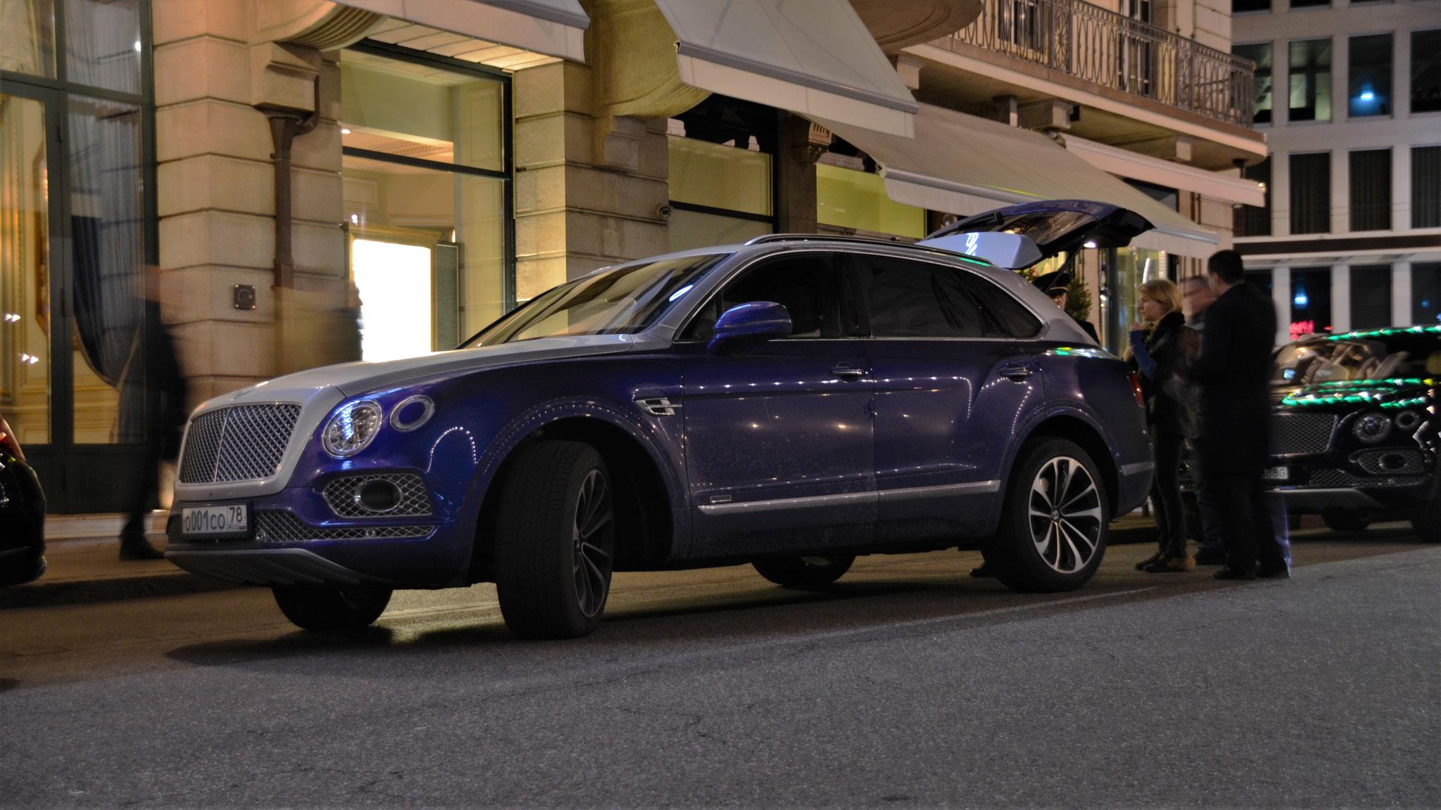 Bentley Bentayga - O-001-CO-78 (RUS)